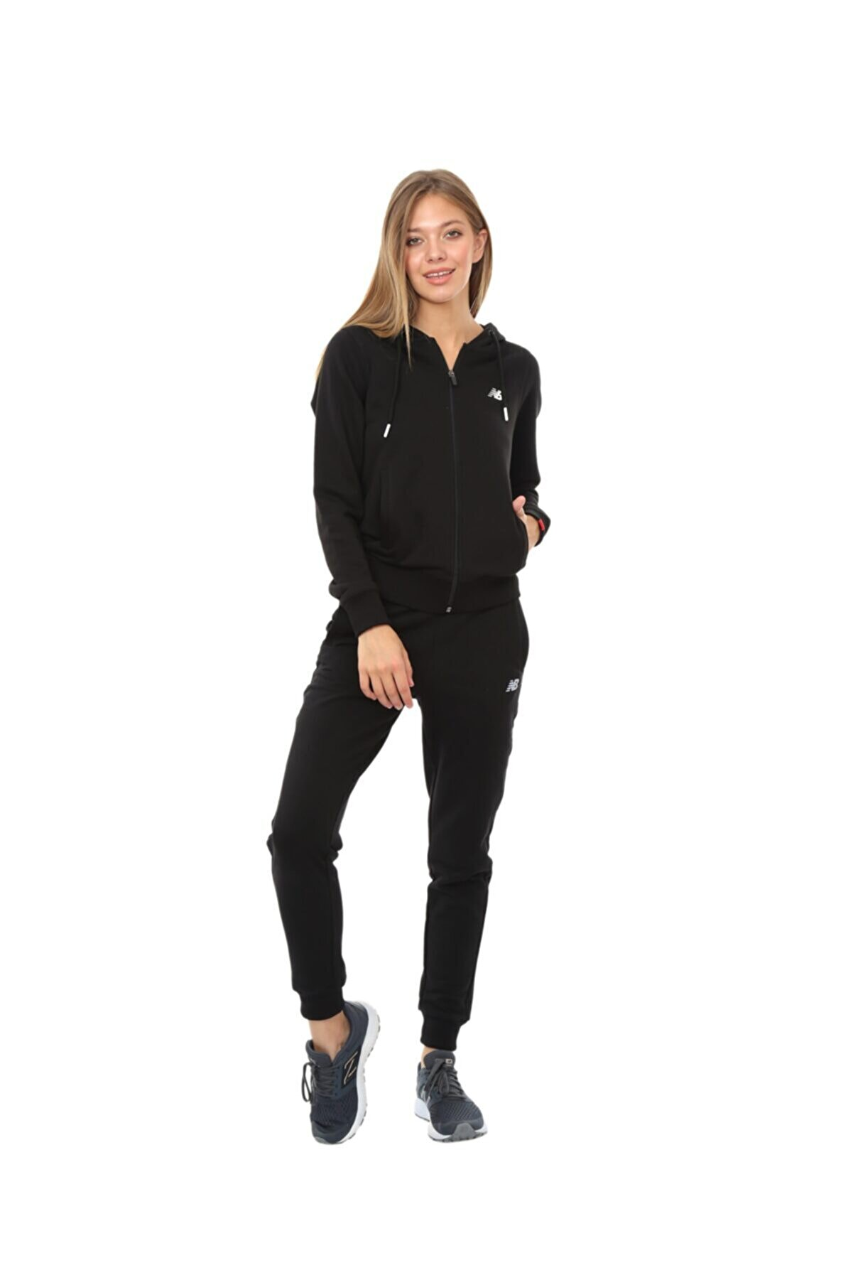 New Balance Kadın Sweatshirt Wps016-wt
