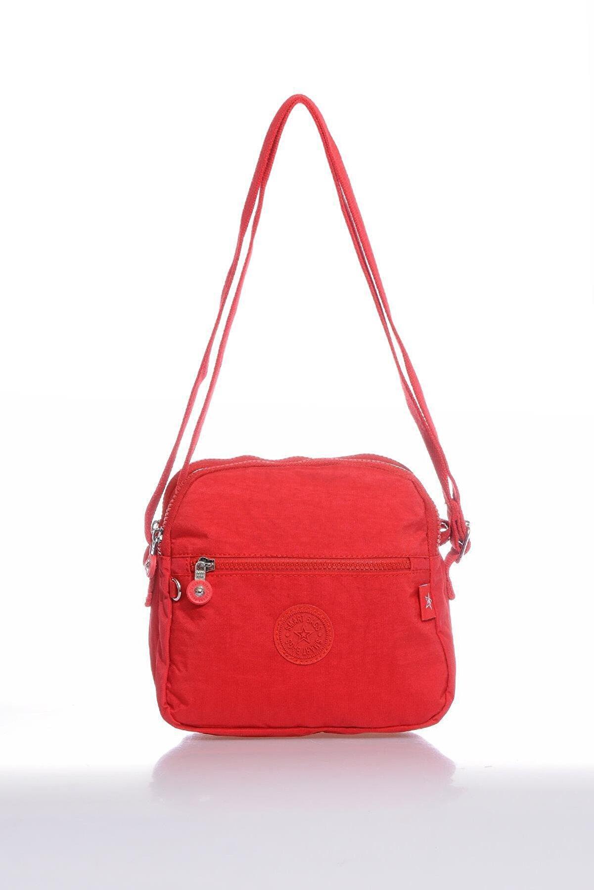 Smart Bags Smb3058-0019 Kırmızı Kadın Çapraz Çanta