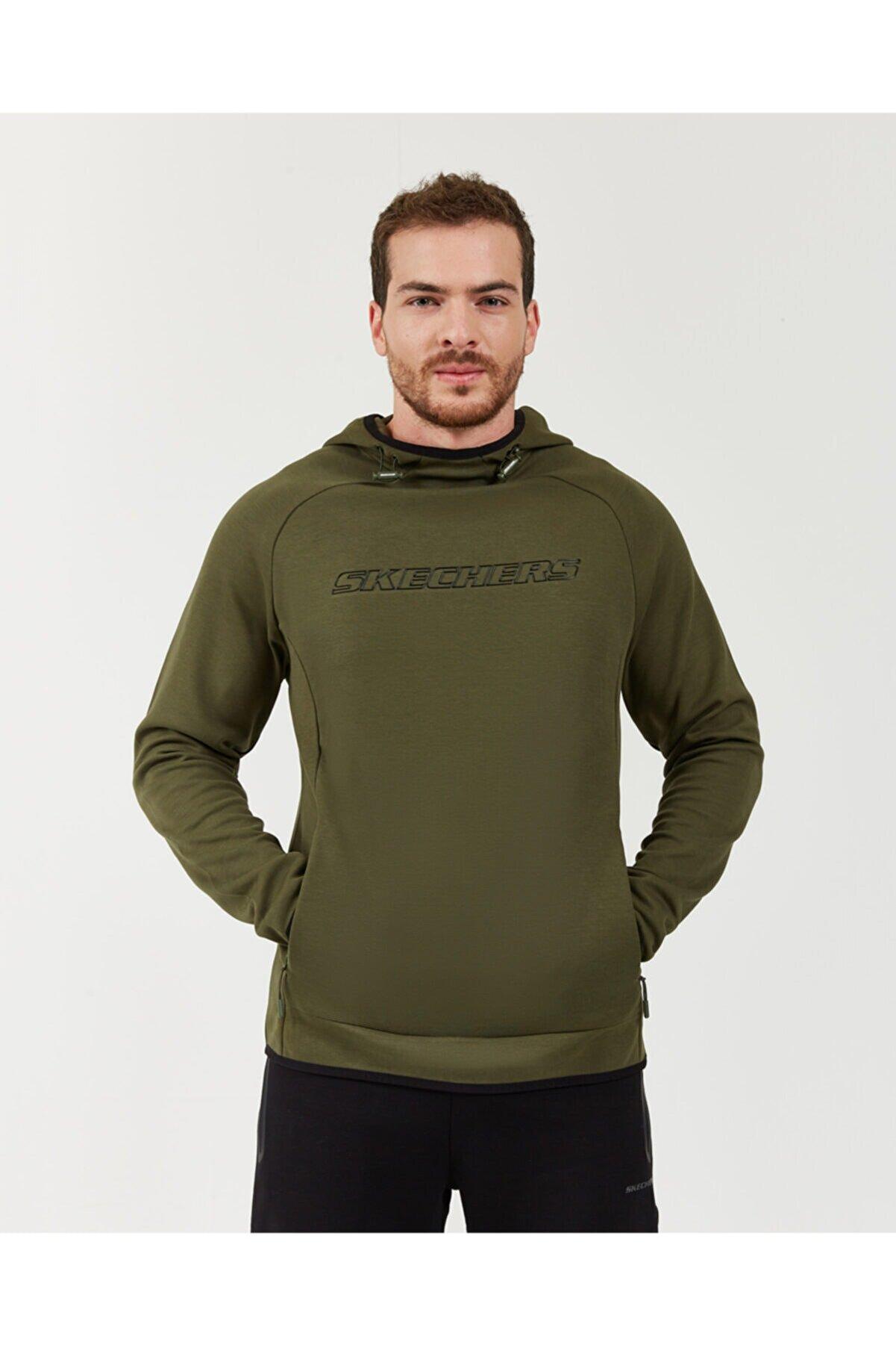 Skechers Erkek Haki Sweatshirt