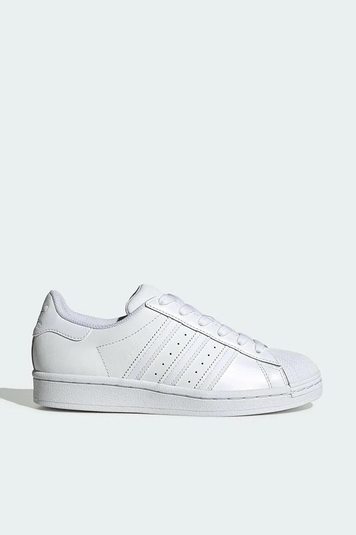 adidas Unisex Beyaz Günlük Spor Ayakkabı Süperstar B27136