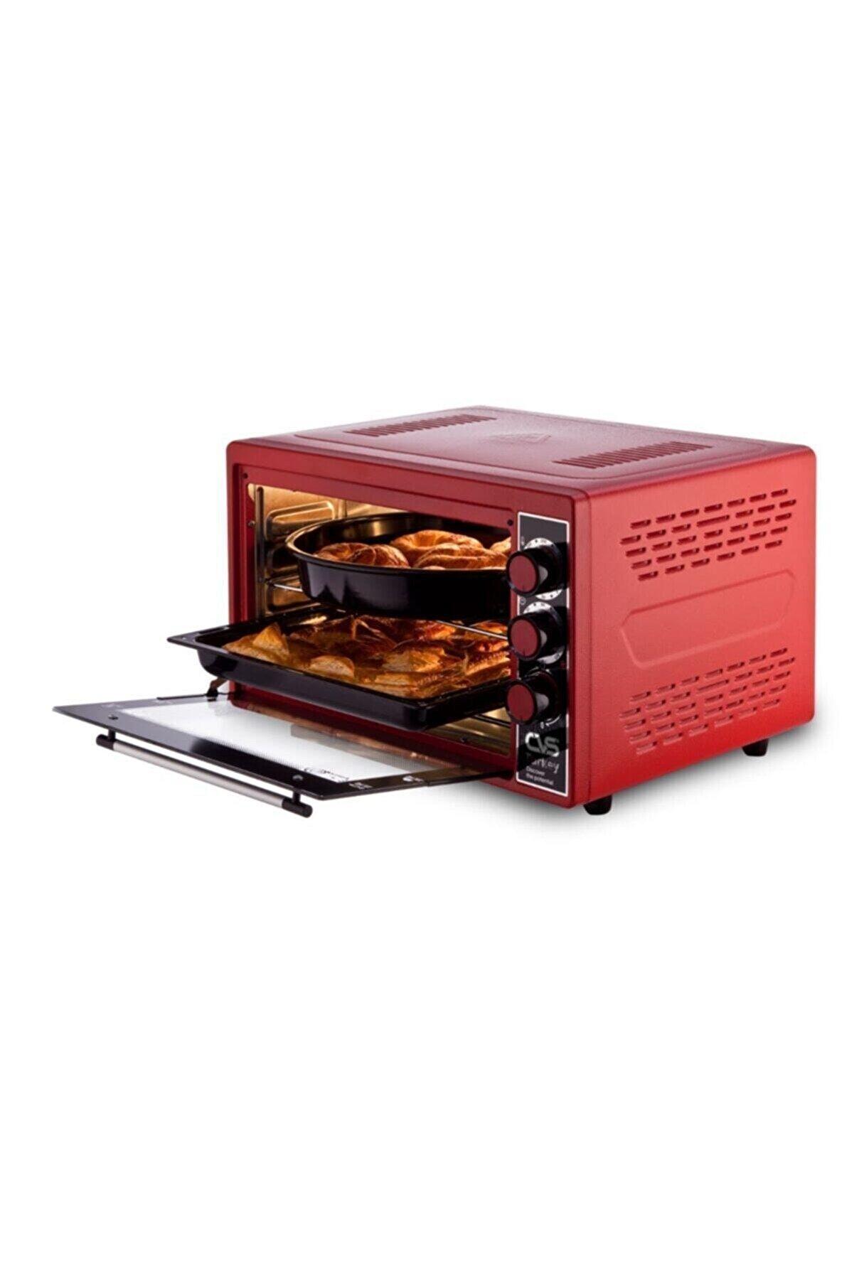 CVS Dn 3907 Gurme Plus 45lt Fırın Kırmızı