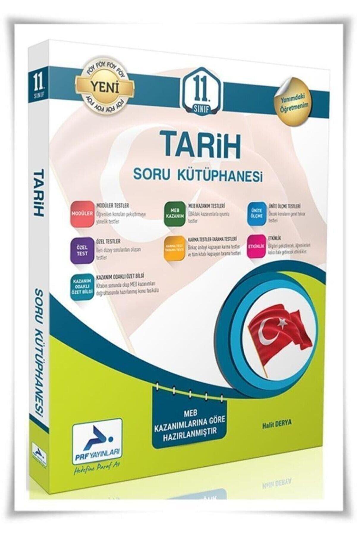PRF Paraf Yayınları Paraf Yayınları 11.sınıf Tarih Soru Bankası