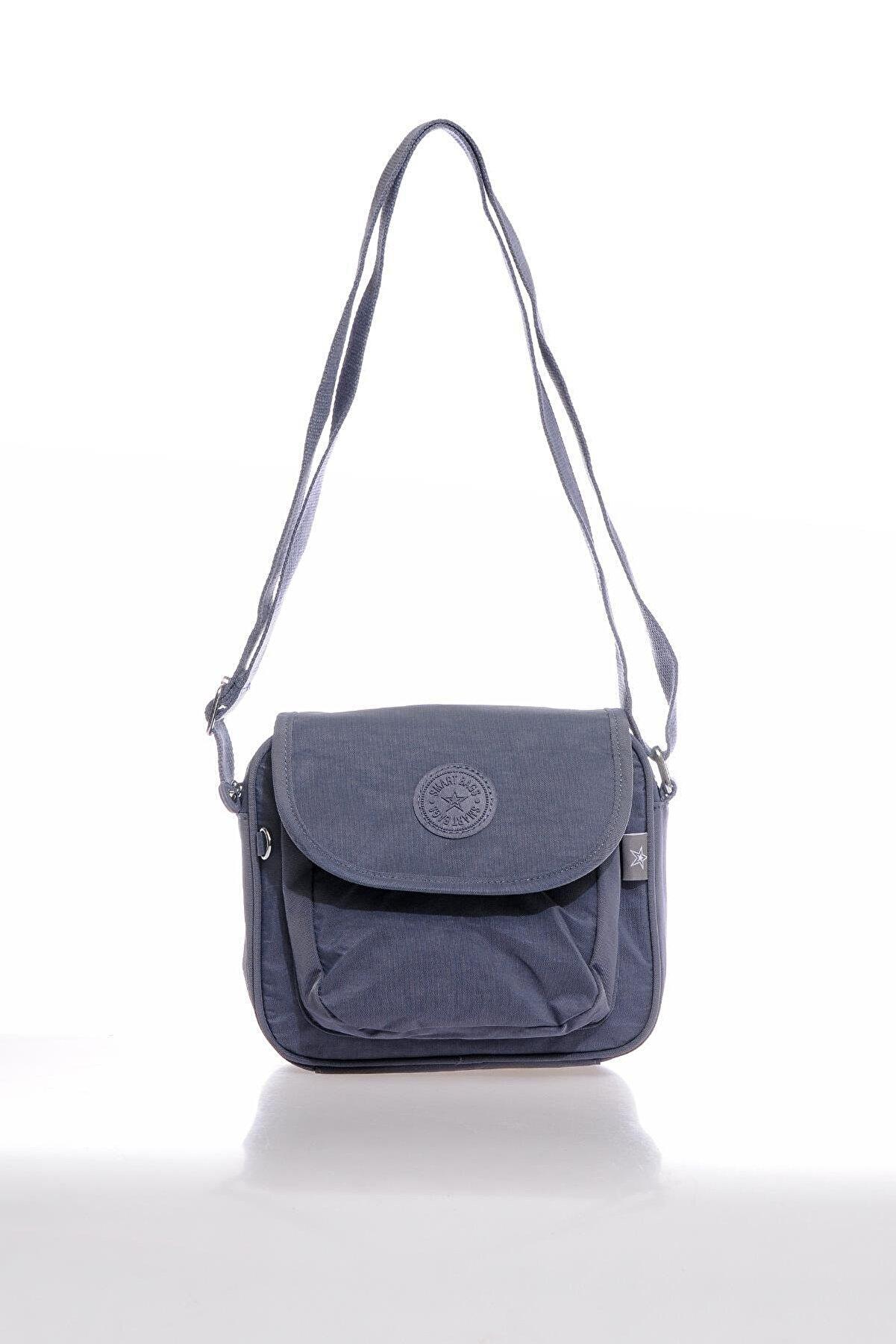 Smart Bags Smb3057-0089 Füme Kadın Çapraz Çanta