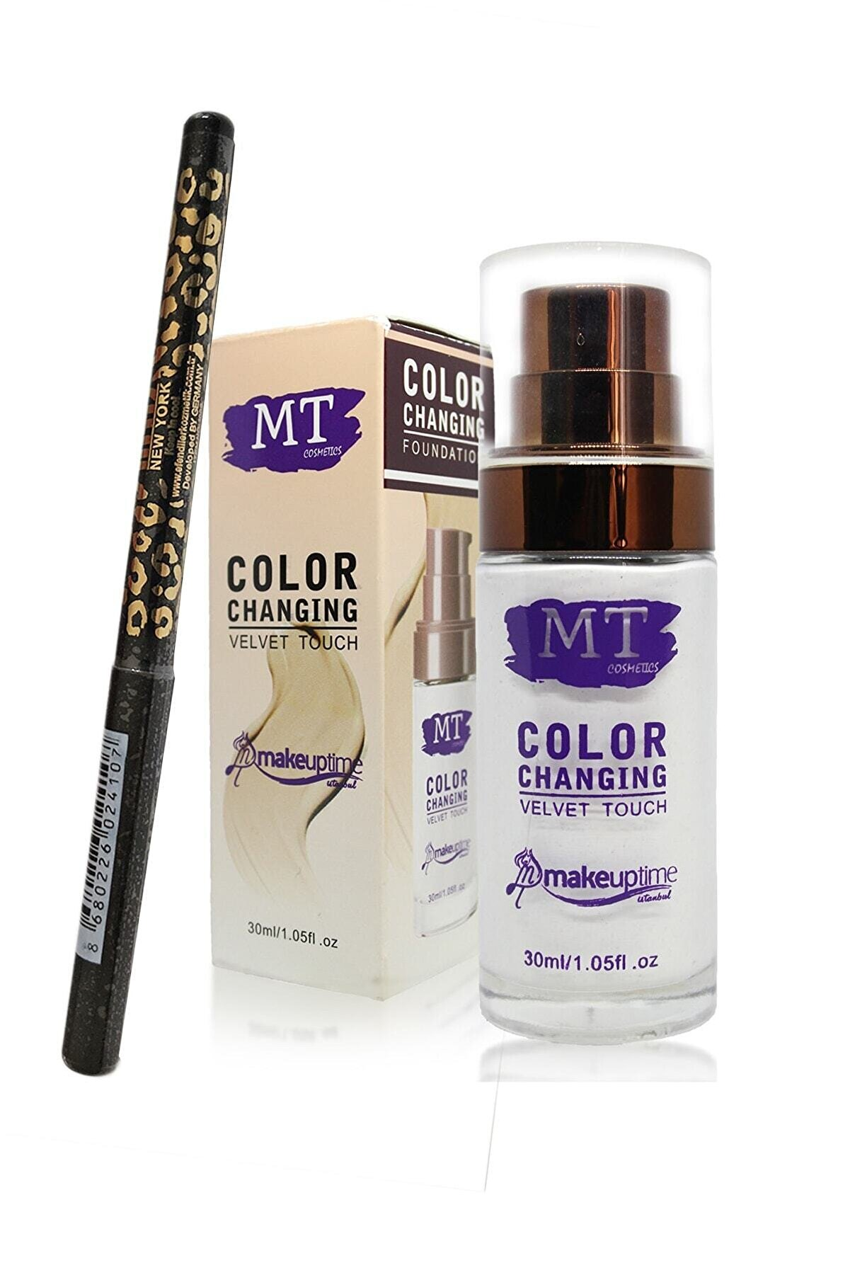 Makeuptime Mt Tene Göre Renk Değiştiren Sihirli Fondöten