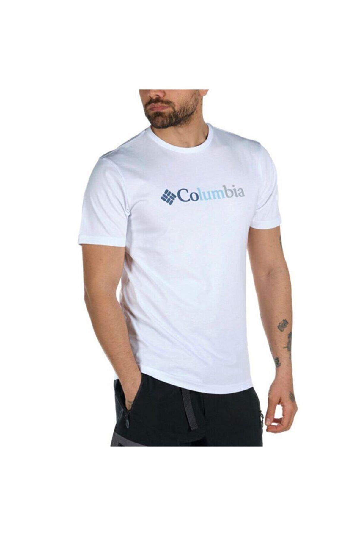 Columbia CSC Trio Stripe Graphic Kısa Kollu Erkek T-shirt