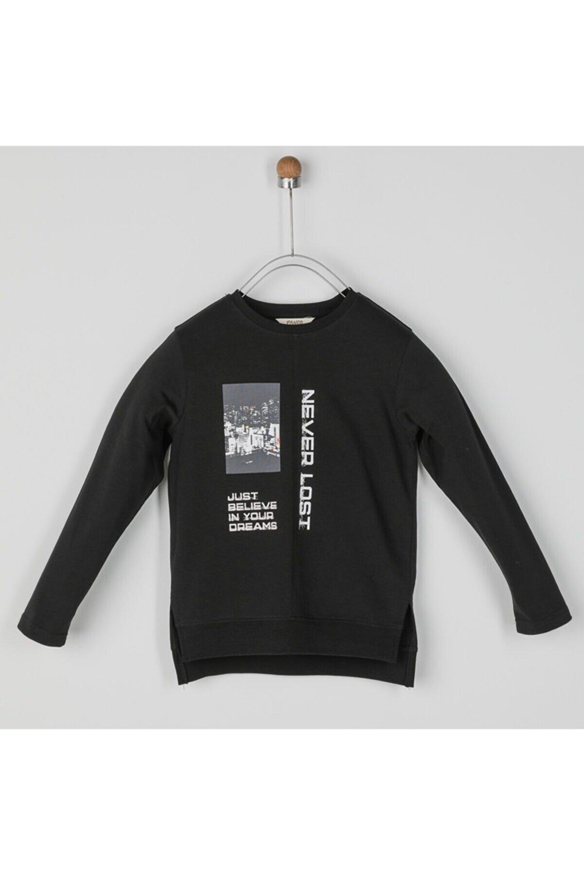Panço Erkek Çocuk Uzun Kollu T-shirt 2021bk05030