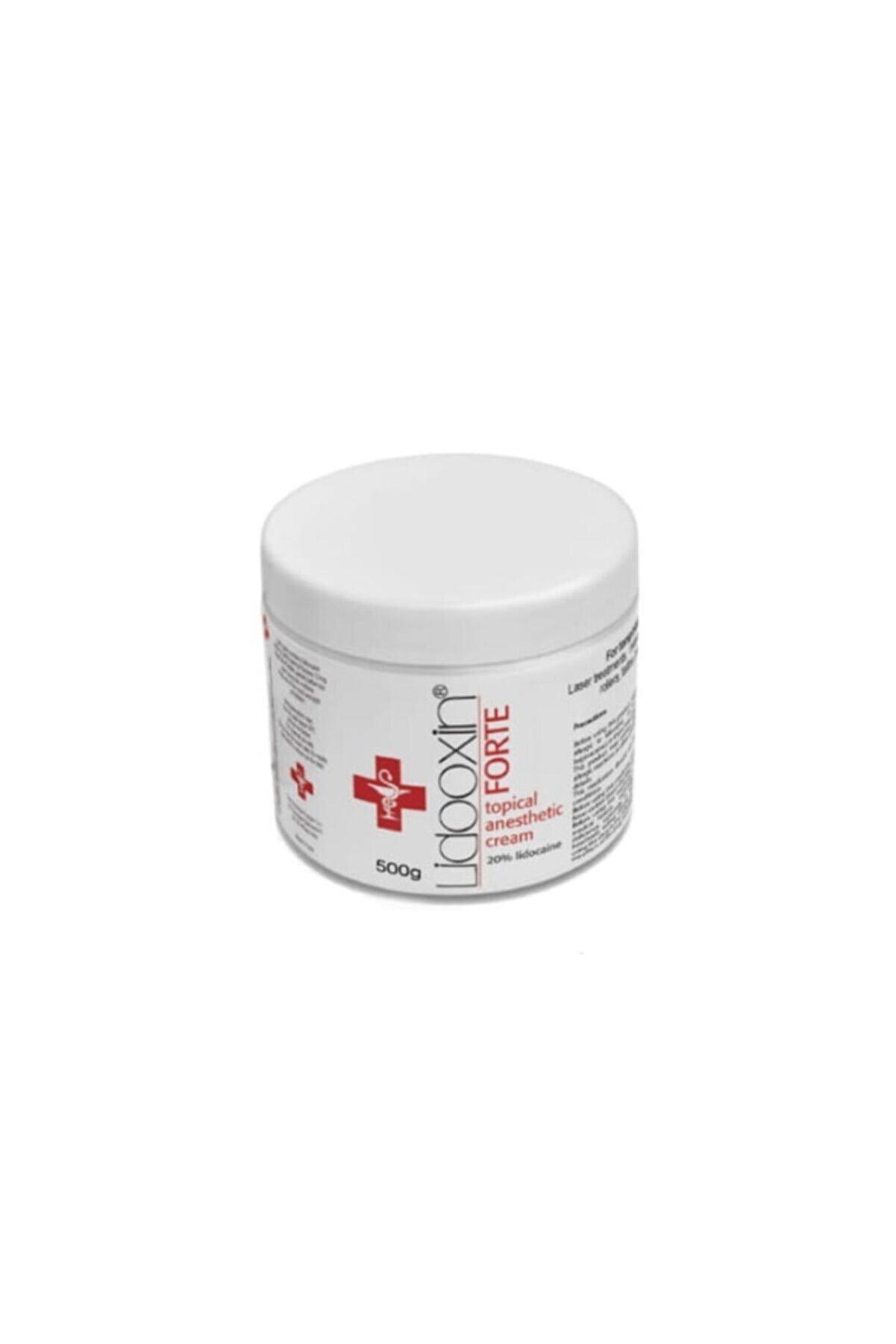 Lidoxin Forte %20 Lidokain Lokal Anestezi Kremi 500g