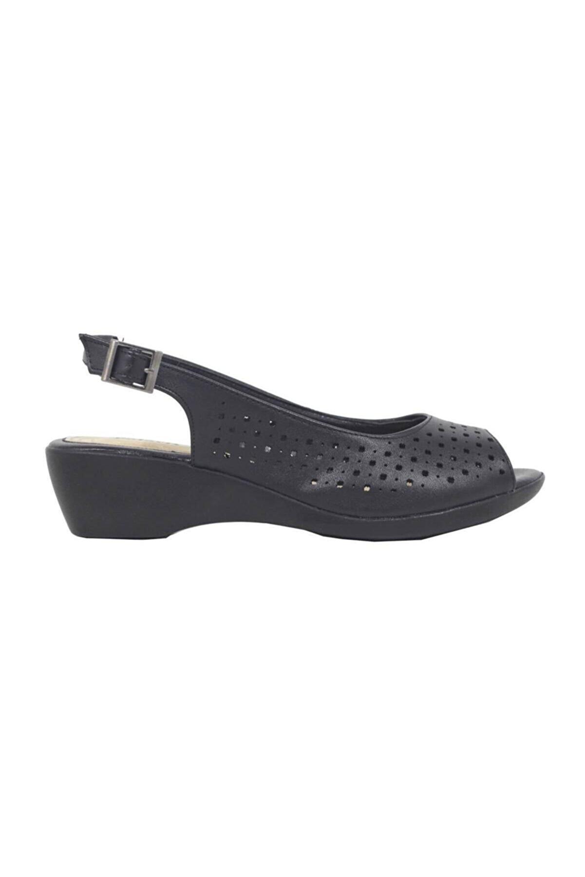 Polaris 91.156613.Z Siyah Kadın Sandalet 100379941