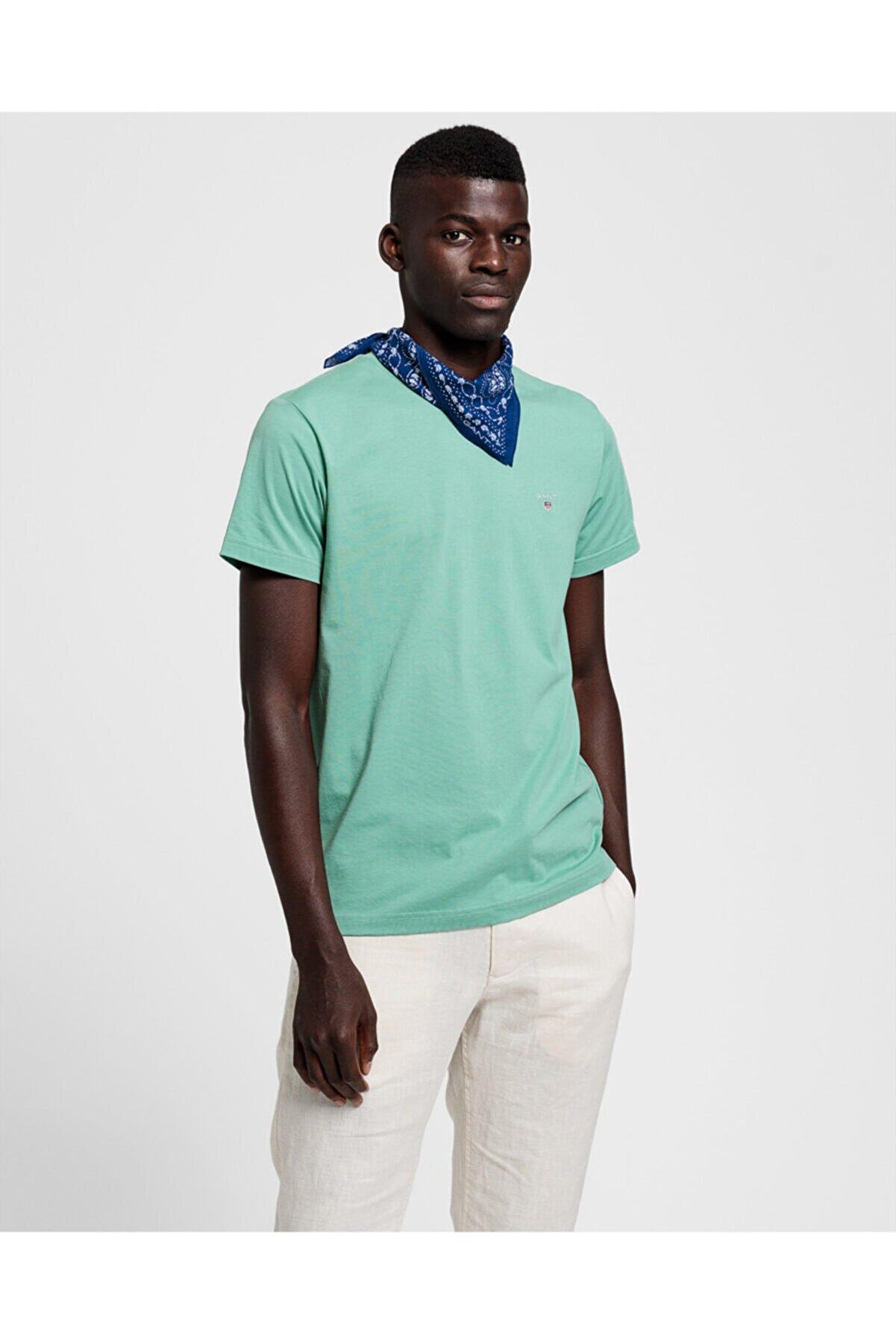Gant Erkek Yeşil Tshirt