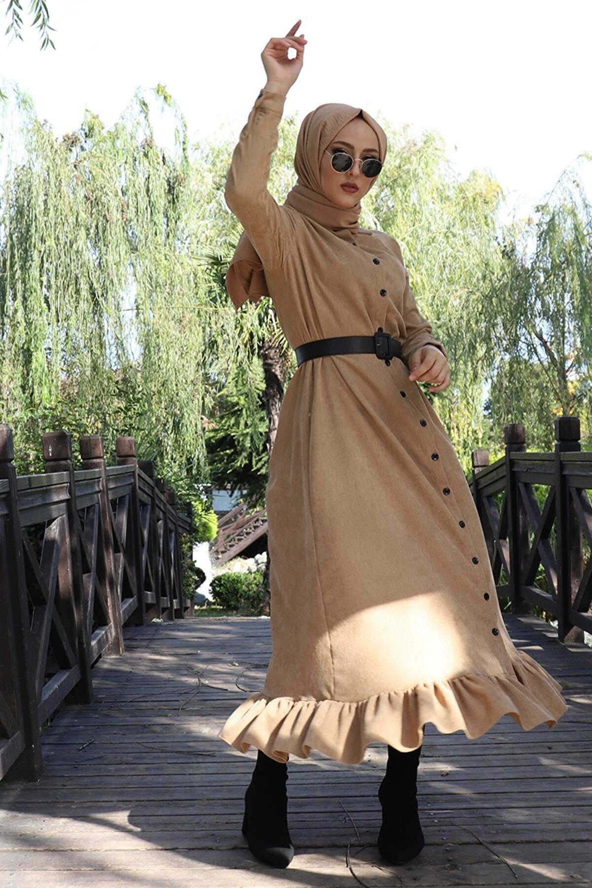 AbiyeSultan Kadife Elbise