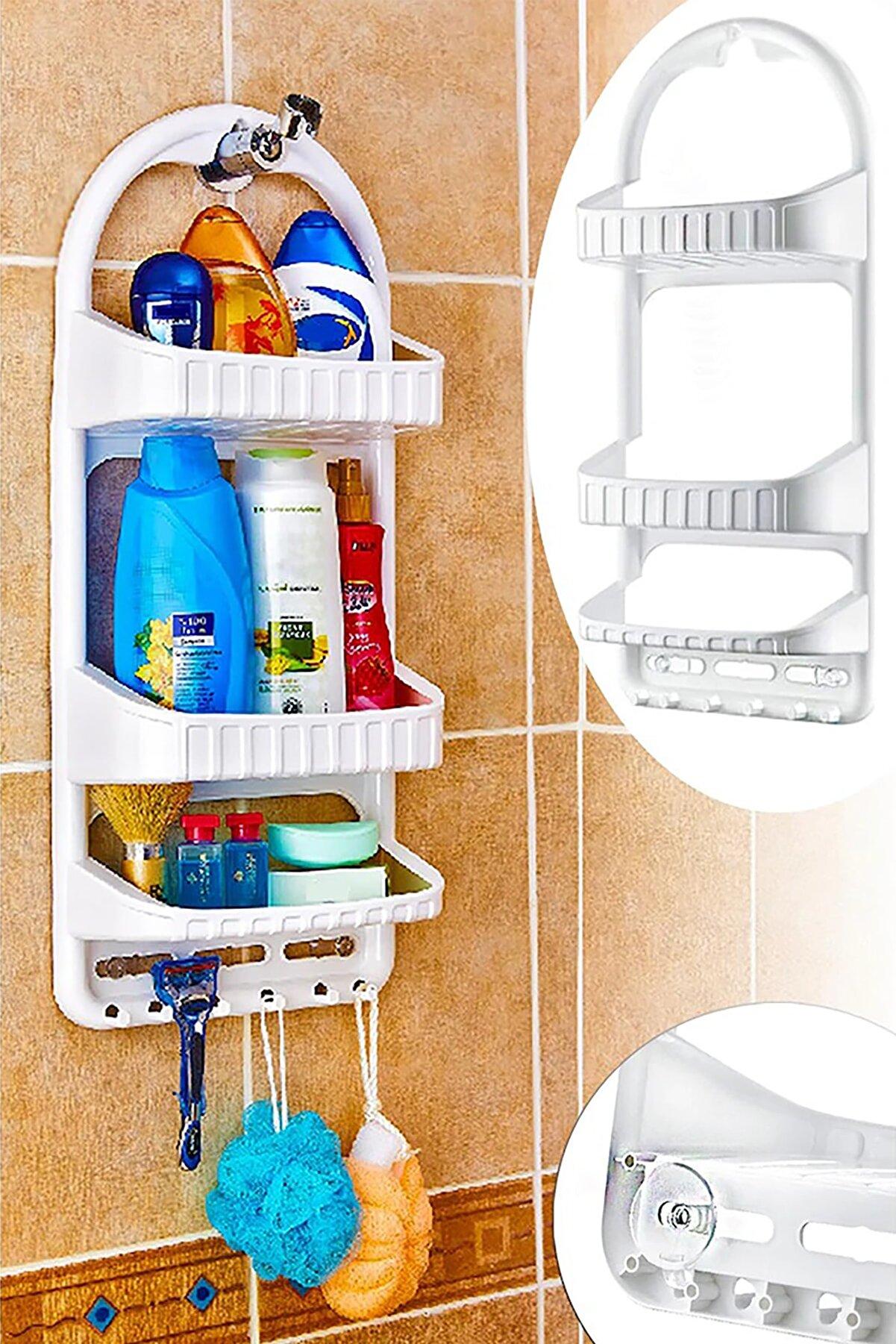 Dolce Casa Pratik Şampuan Rafı