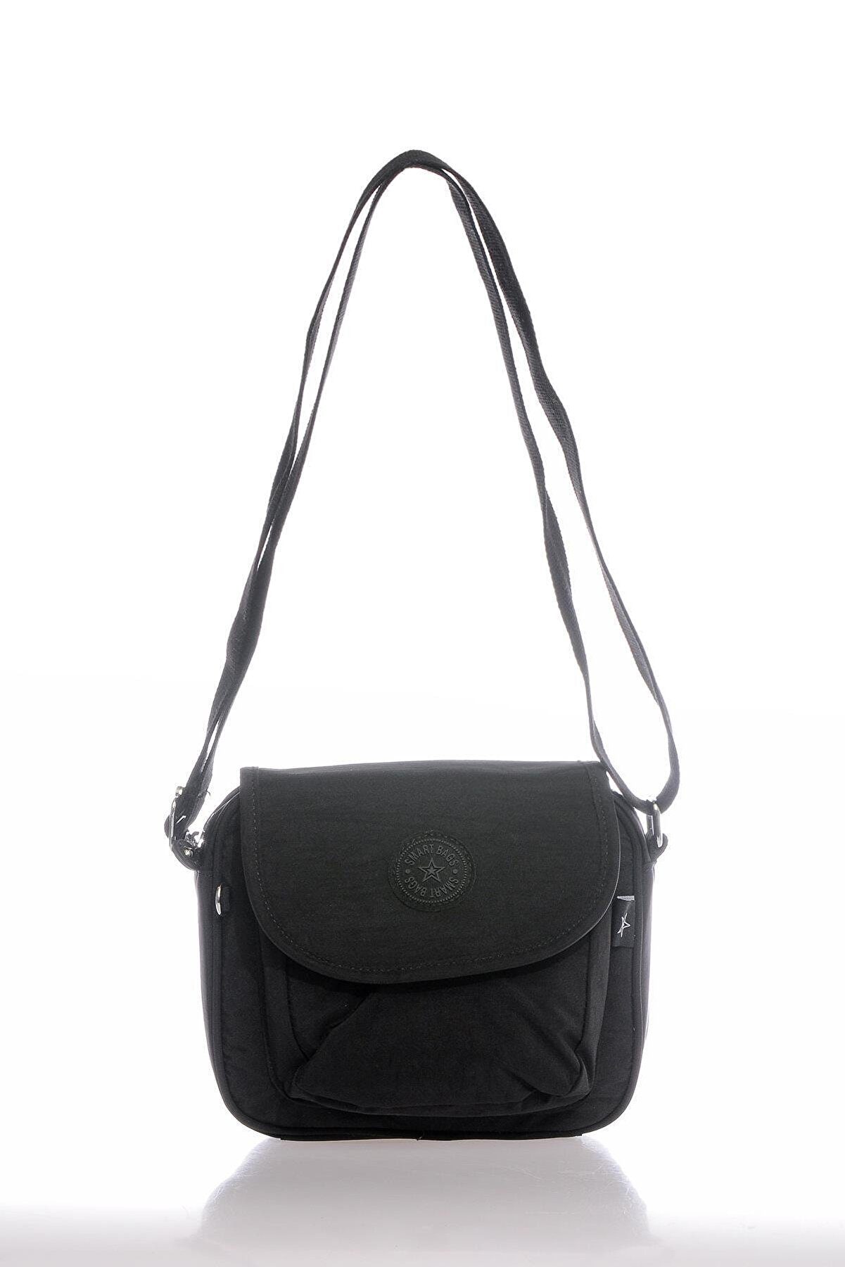 Smart Bags Smb3057-0001 Siyah Kadın Çapraz Çanta