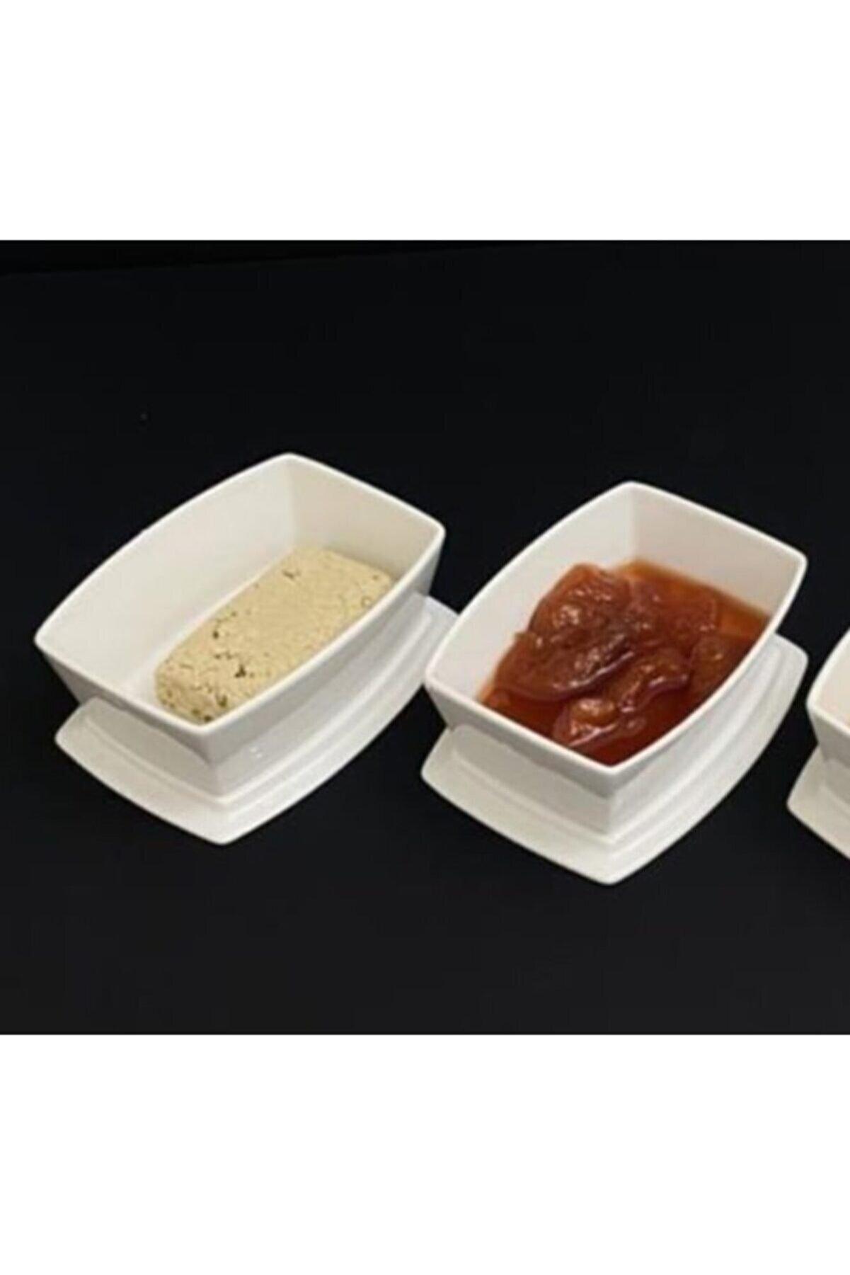 Tekbir 2 Li Çok Amaçlı Kapaklı Kahvaltılık Çerezlik Fırında Kullanılabilen Kase