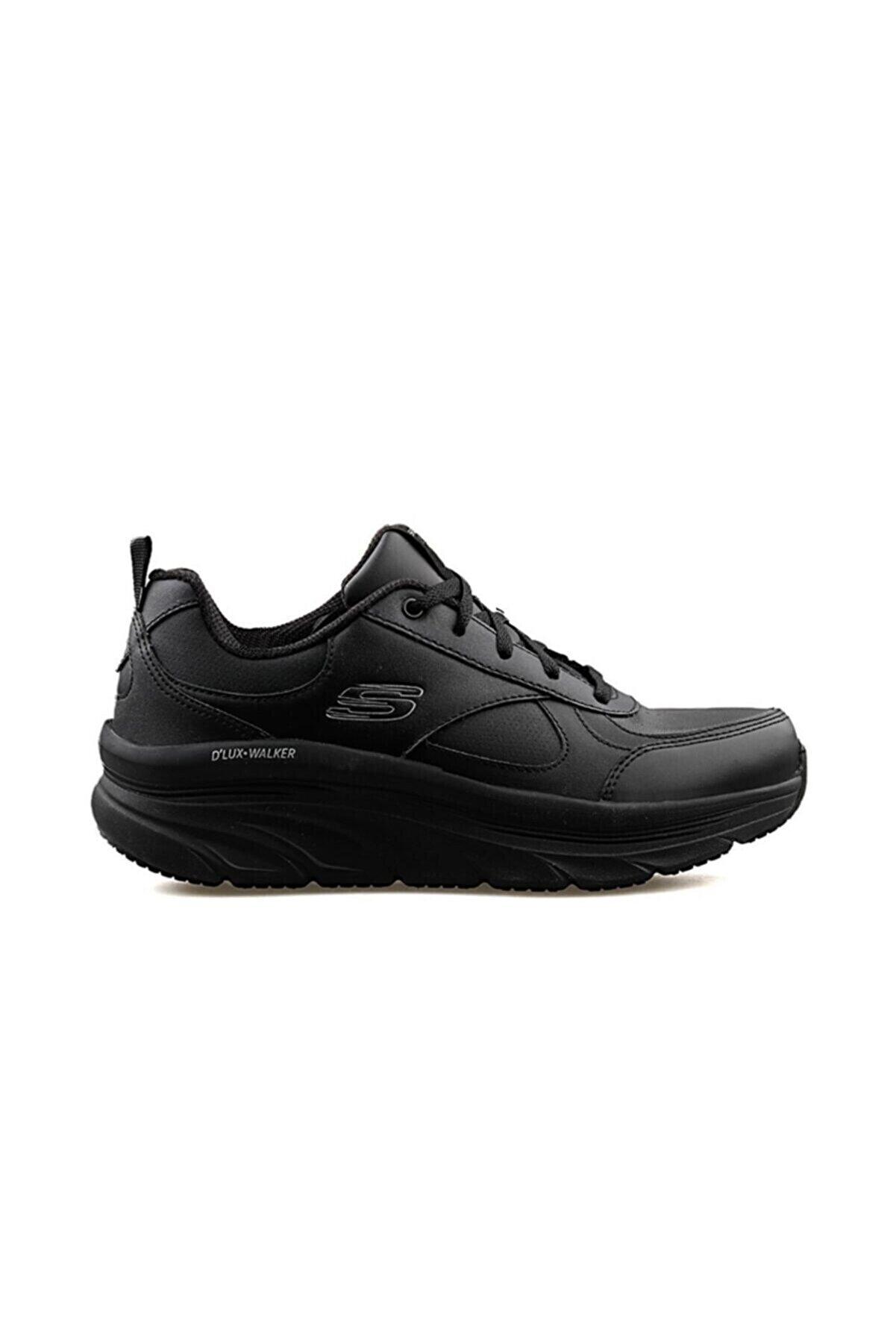 Skechers D'LUX WALKER-TIMELESS PATH Kadın Siyah Spor Ayakkabı