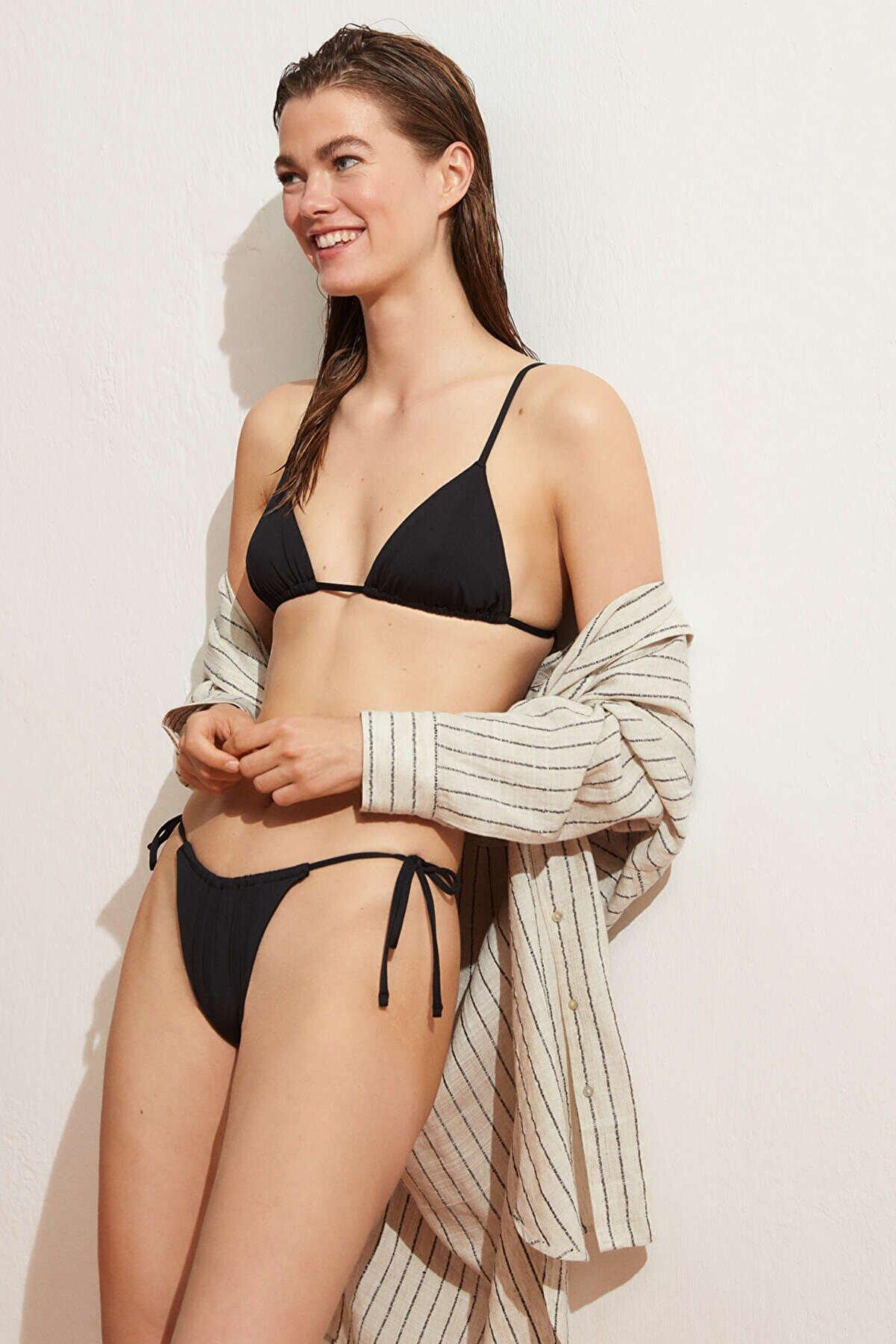 Oysho Kadın Ipli Brezilya Modeli Bikini Altı