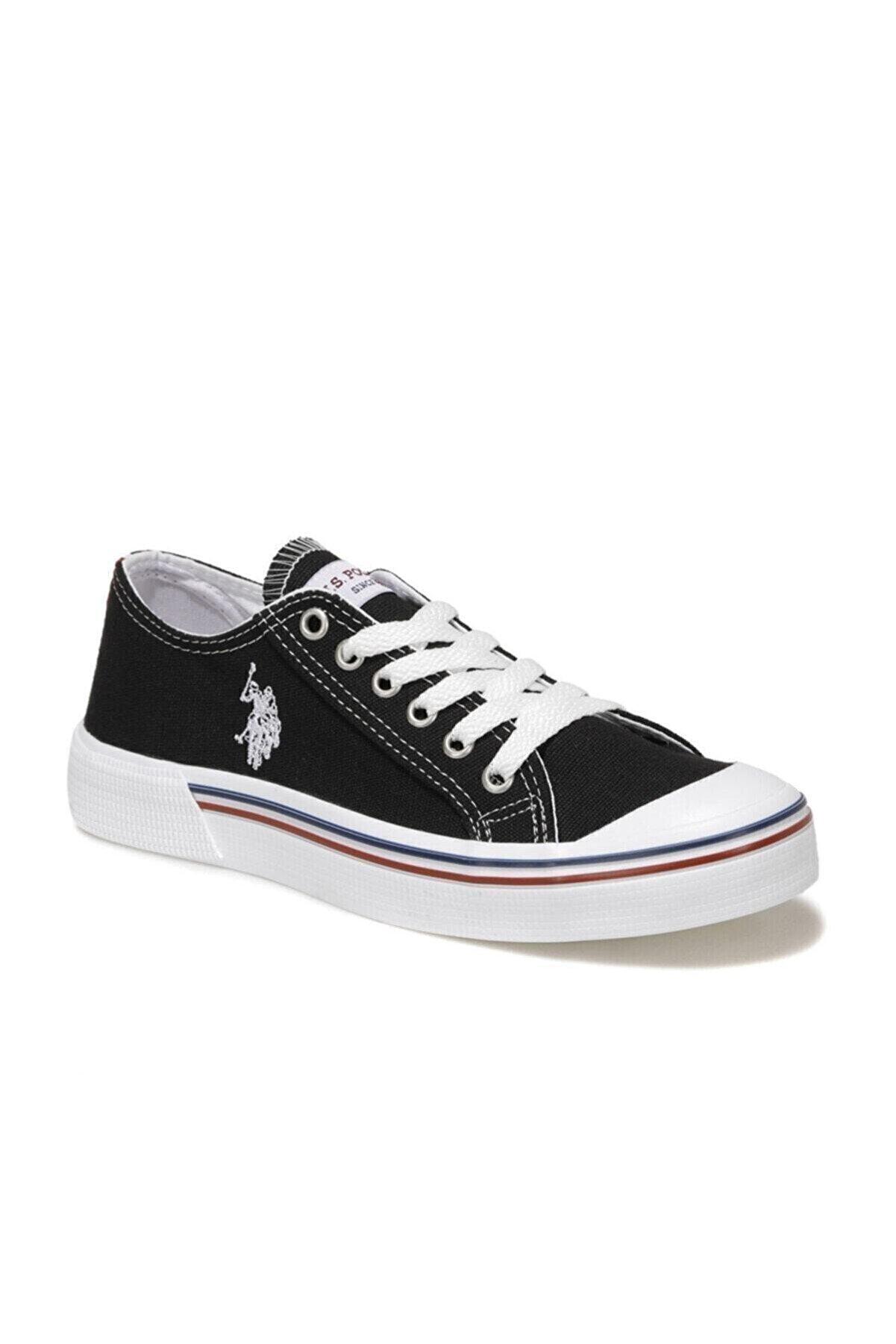 US Polo Assn Kadın Siyah Penelope 1fx Havuz Taban Sneaker 101013407