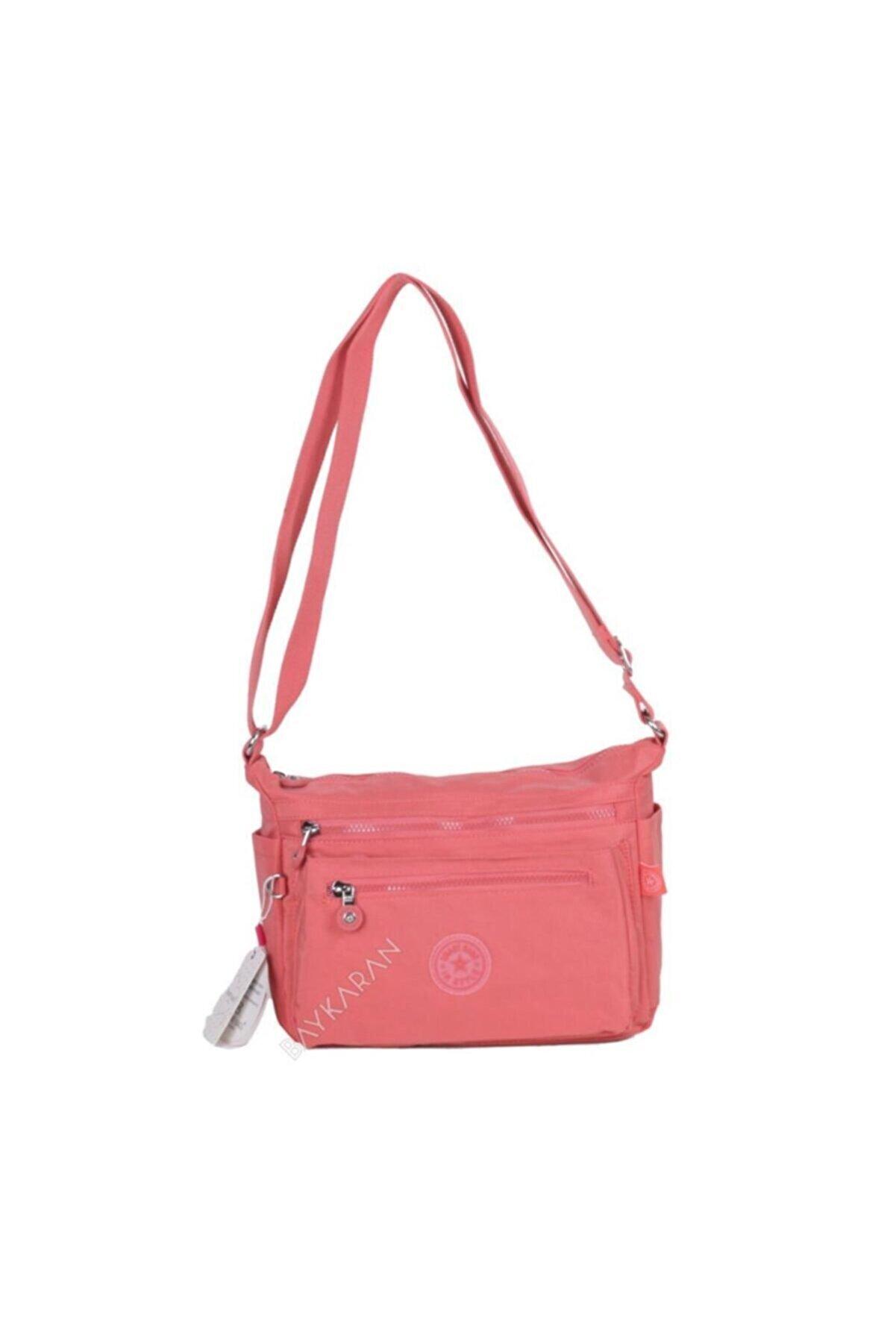 Smart Bags 1238 Omuz Postacı Kadın Çantası 73 Somon