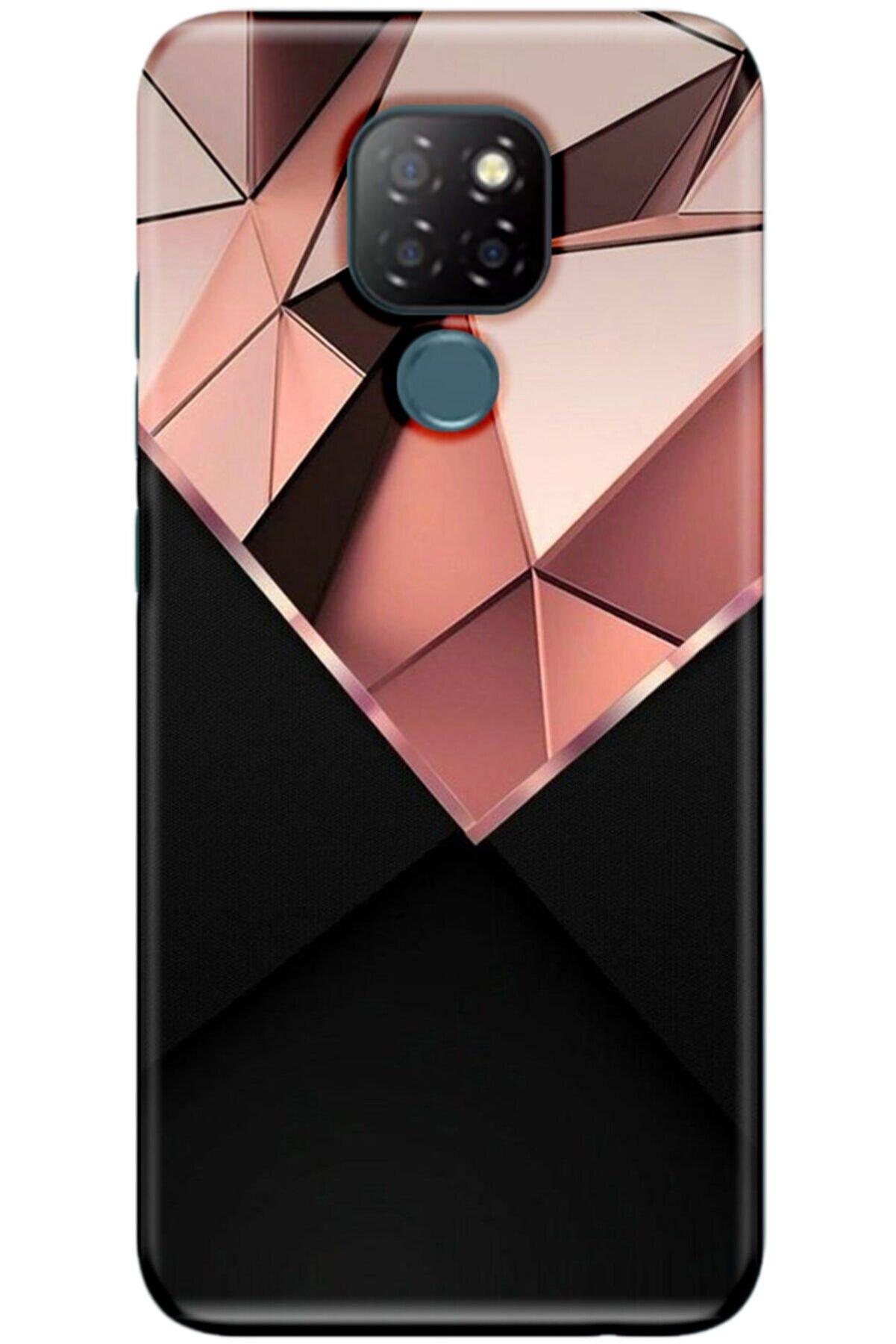 Noprin General Mobile Gm 20 Kılıf Silikon Baskılı Desenli Arka Kapak