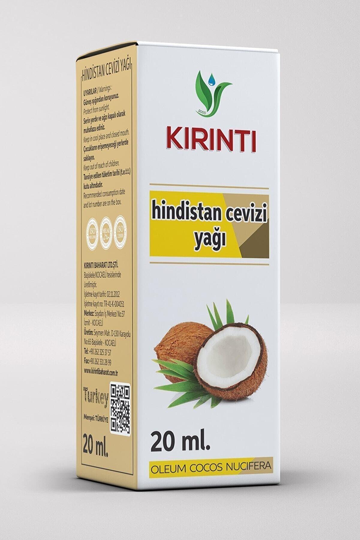 KIRINTI 2000 Kırıntı Hindistan Cevizi Yağı 20 ml