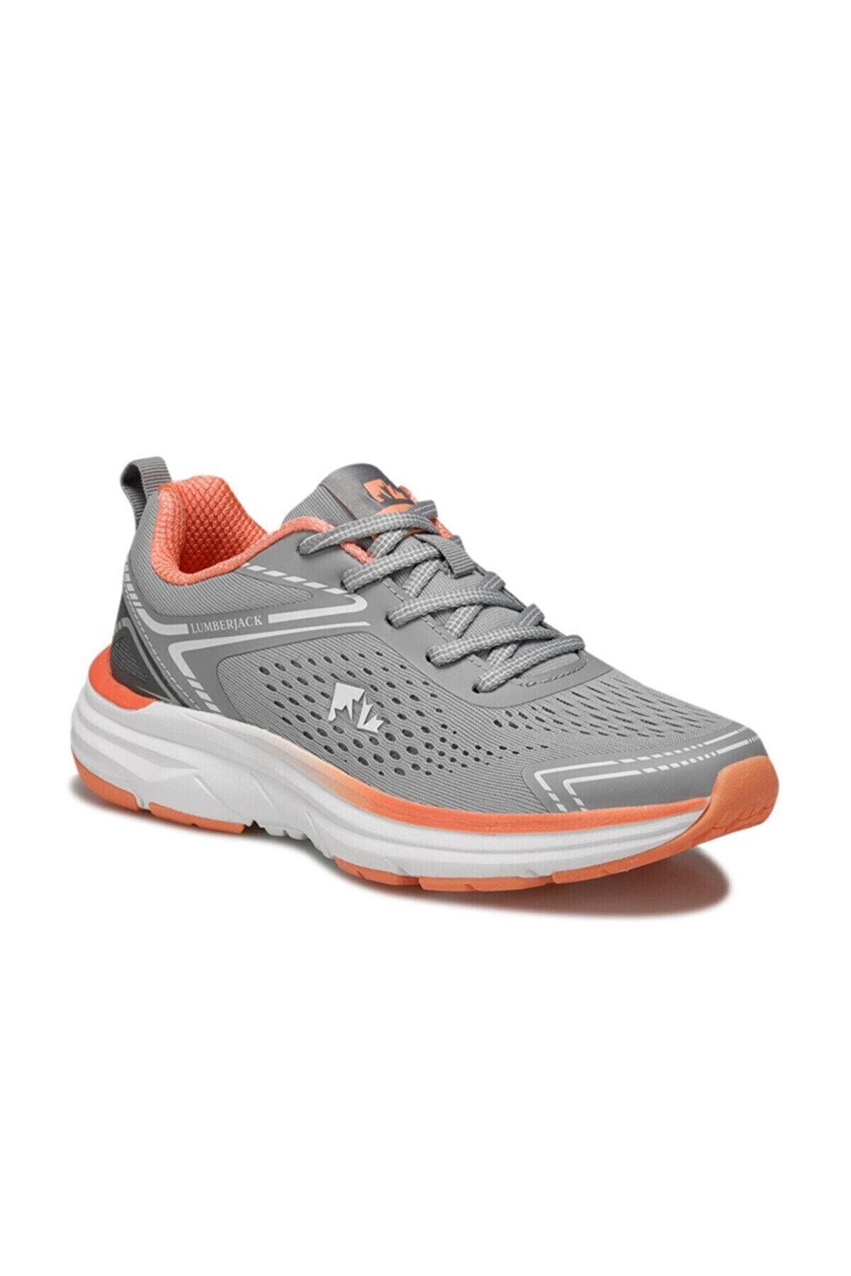 Lumberjack KITTY Gri Kadın Koşu Ayakkabısı 100497157