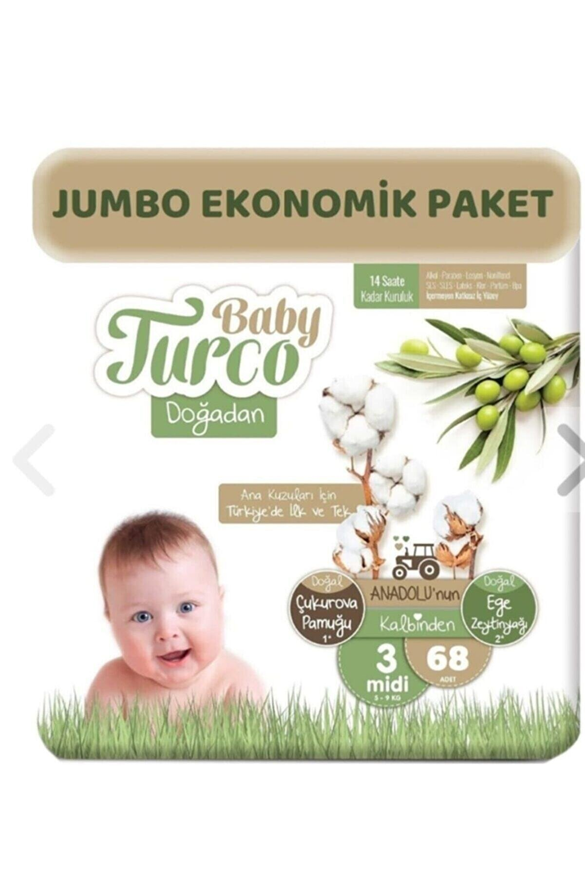 Baby Turco Doğadan Hesaplı Paket 3no 68'li