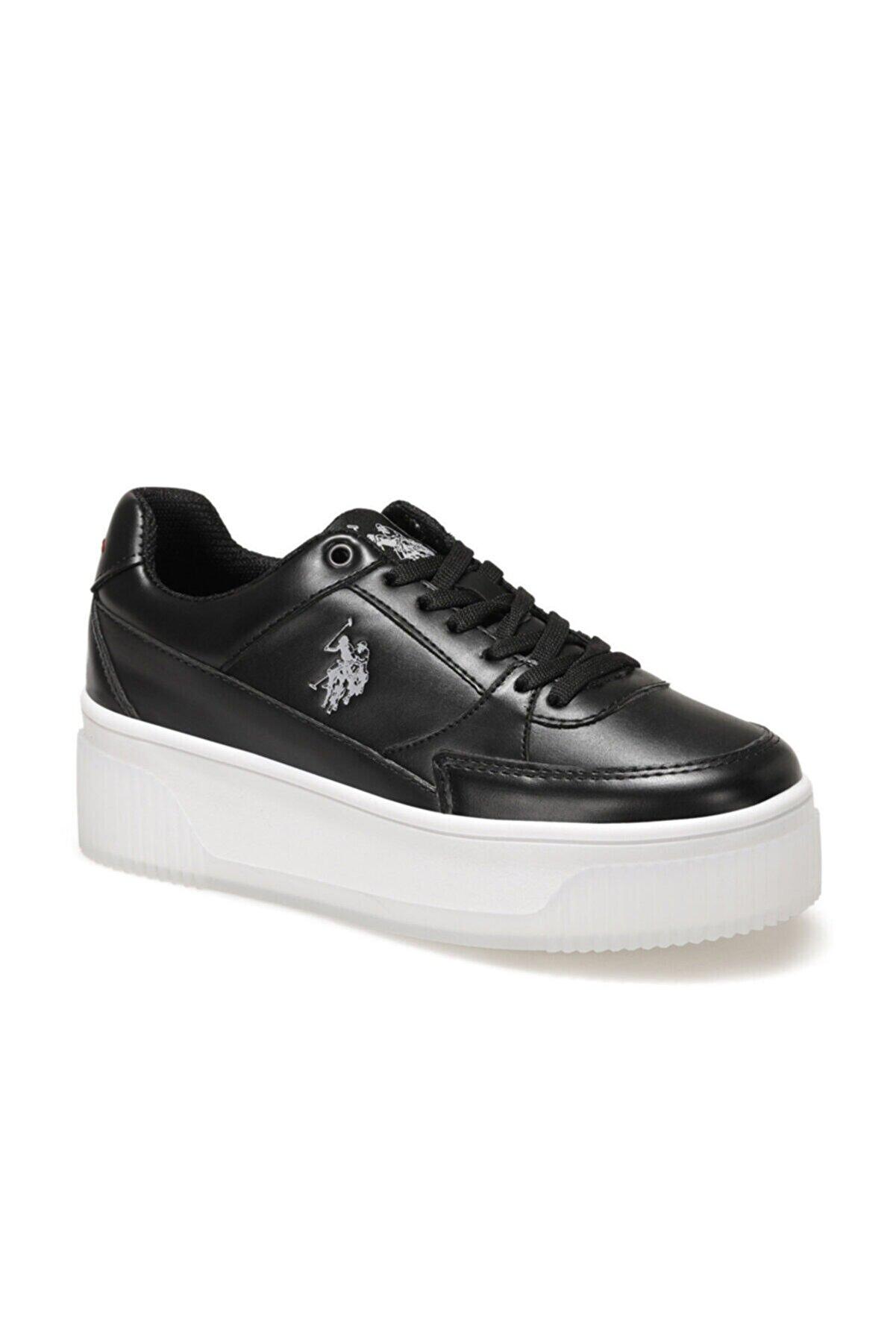 US Polo Assn MADONNA 1FX Siyah Kadın Fashion Sneaker 100910526