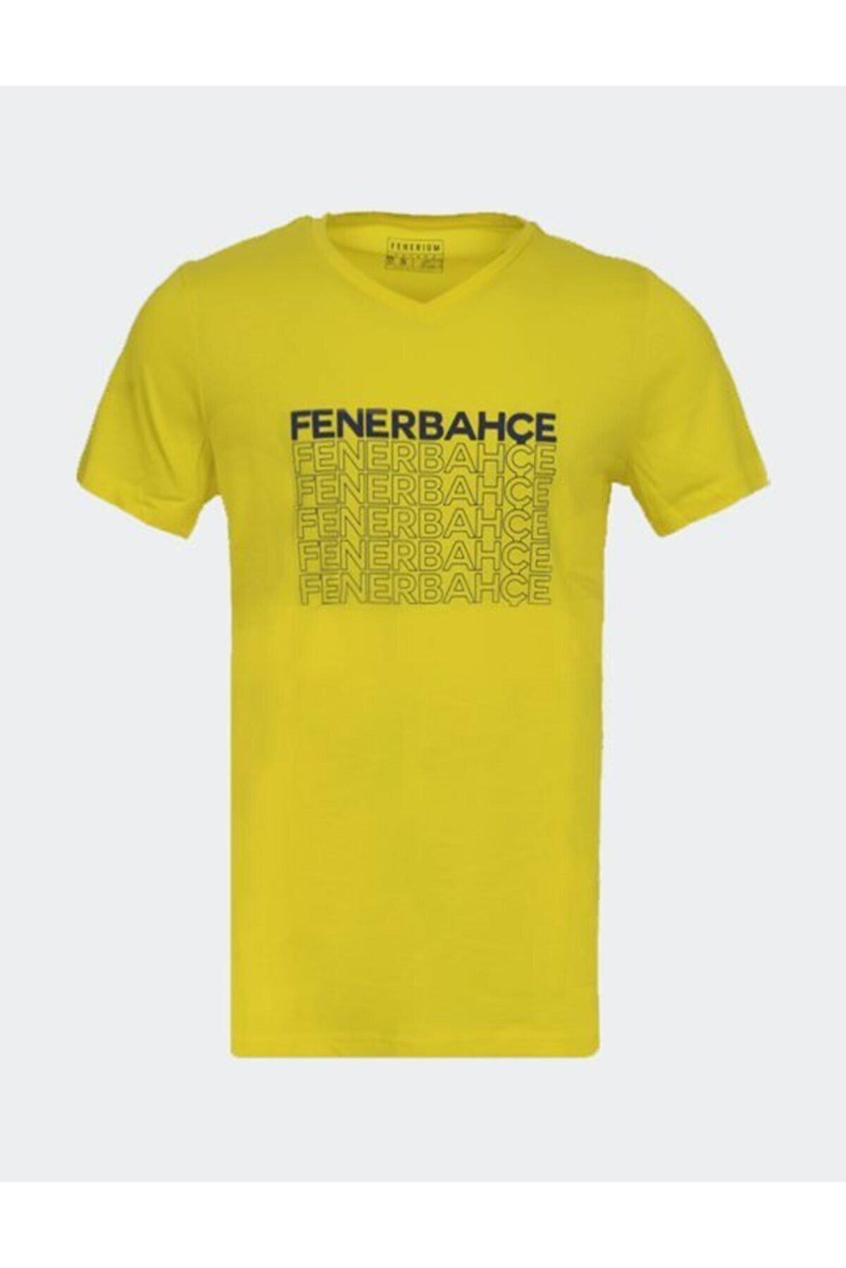Fenerbahçe Erkek Trıbun Flok Fb Tshırt