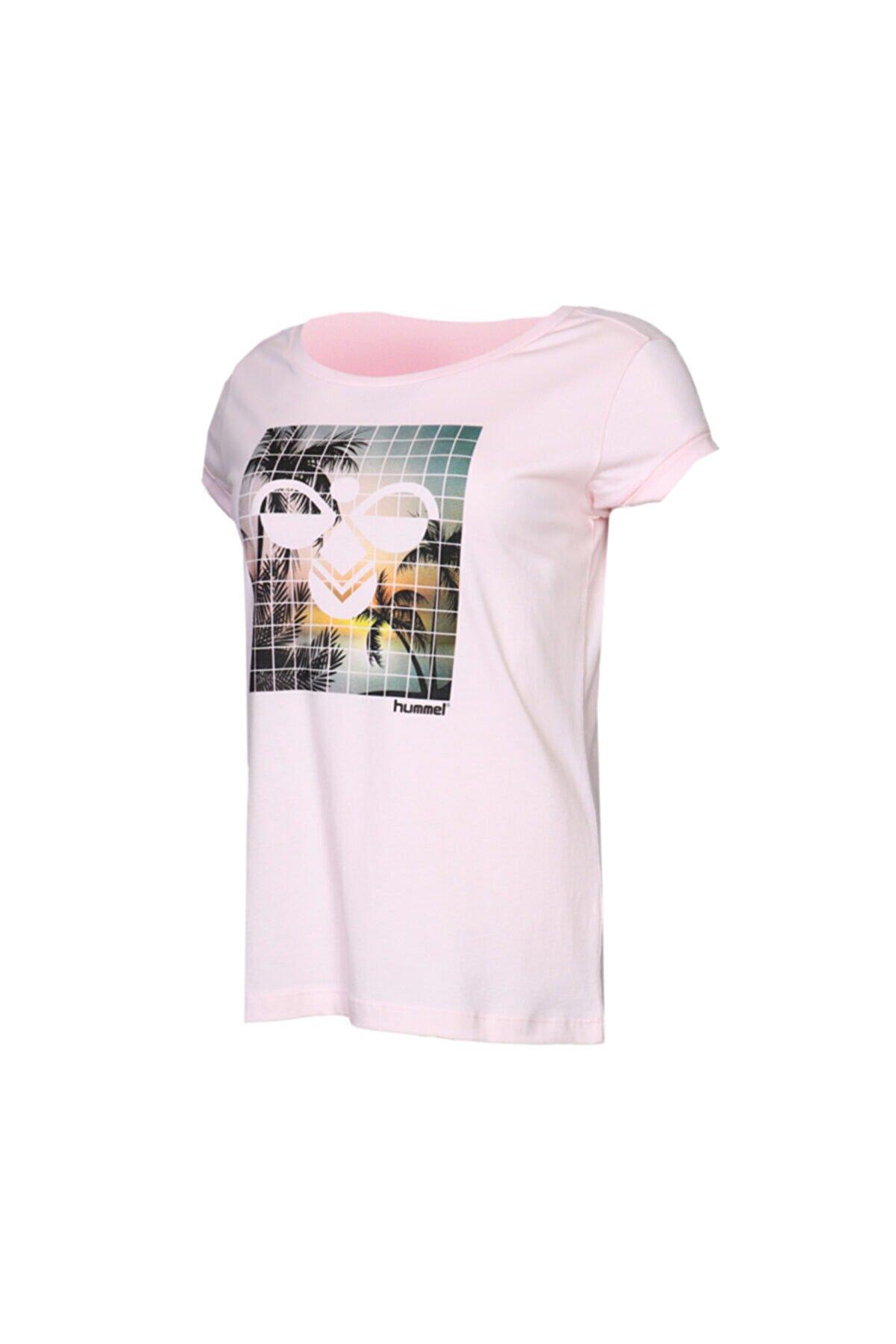 HUMMEL HMLZEHIL T-SHIRT S/S Çok Renkli Kadın T-Shirt 100580721