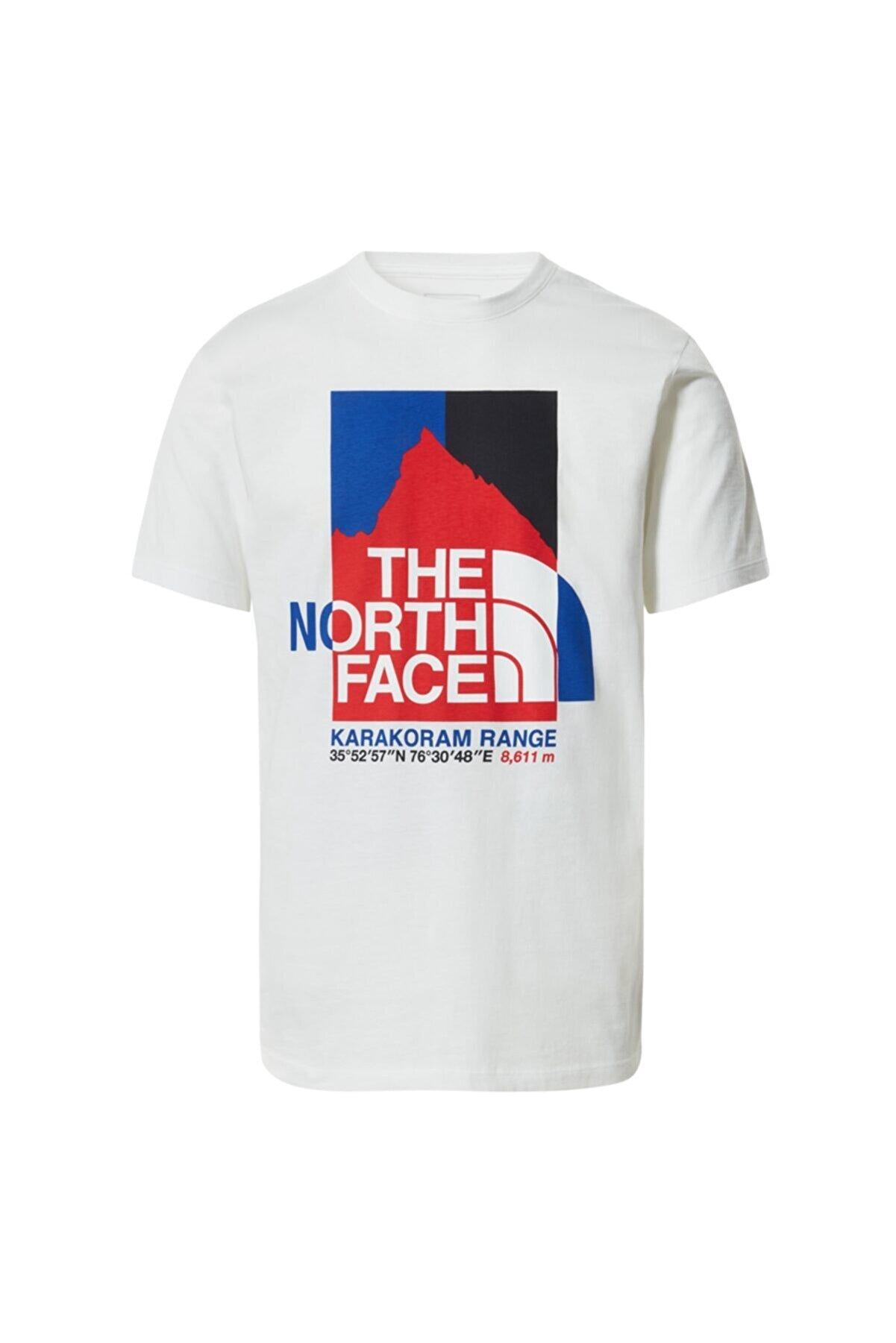 The North Face M K2rm Graphıc S/s Tee Nf0a55ulfn41