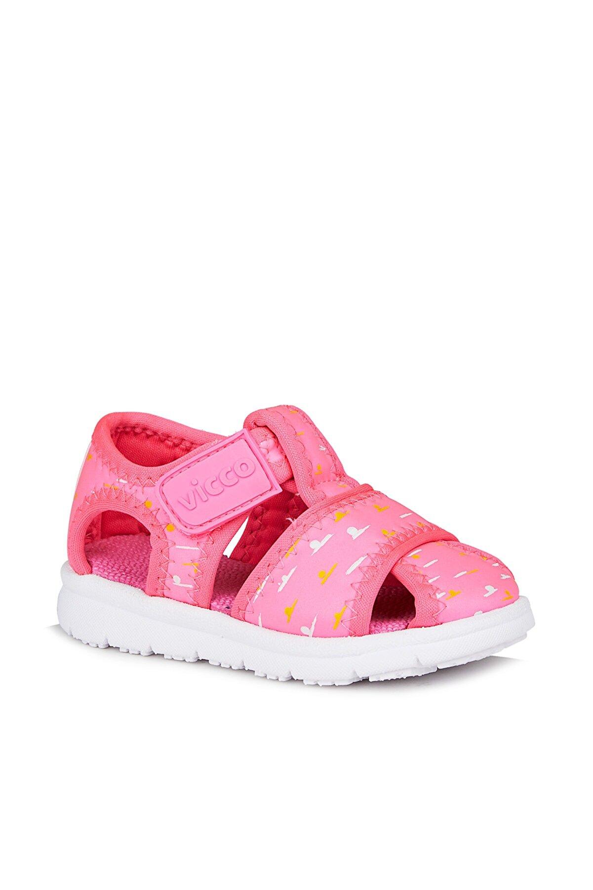 Vicco Bumba Kız Çocuk Fuşya Sandalet
