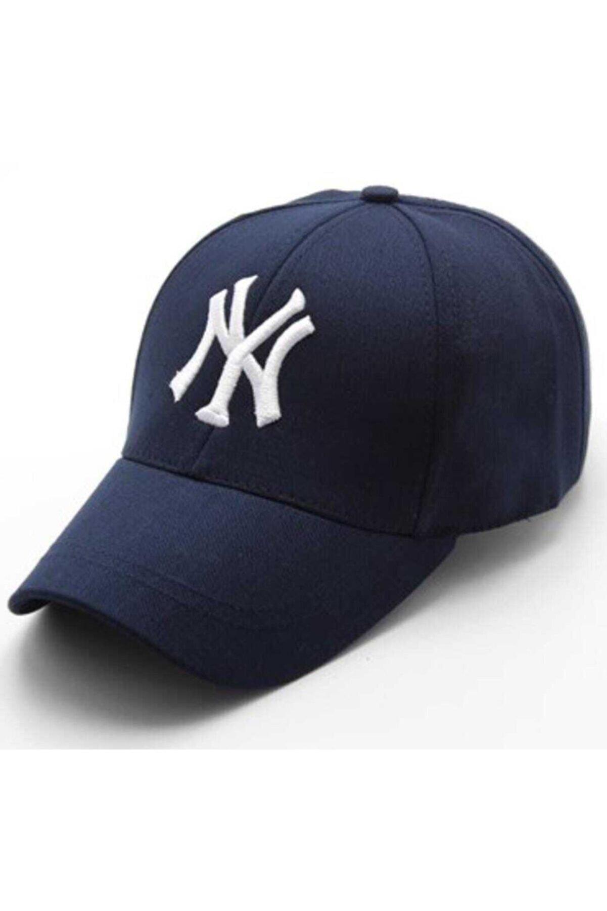 rüya butik Unisex Lacivert Şapka
