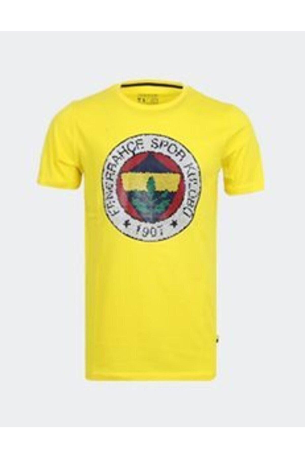 Fenerbahçe Erkek Trıbun Mozaık Baskı Tshırt