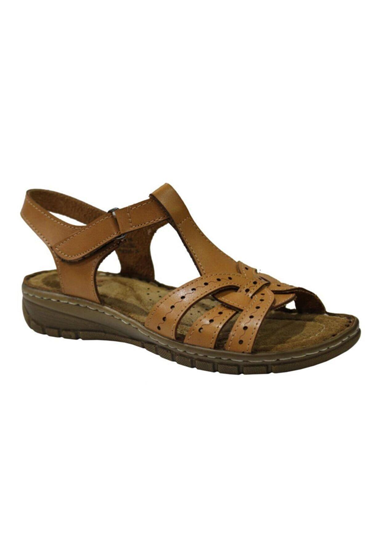 Polaris 91.158589.Z Camel Kadın Sandalet 100375012