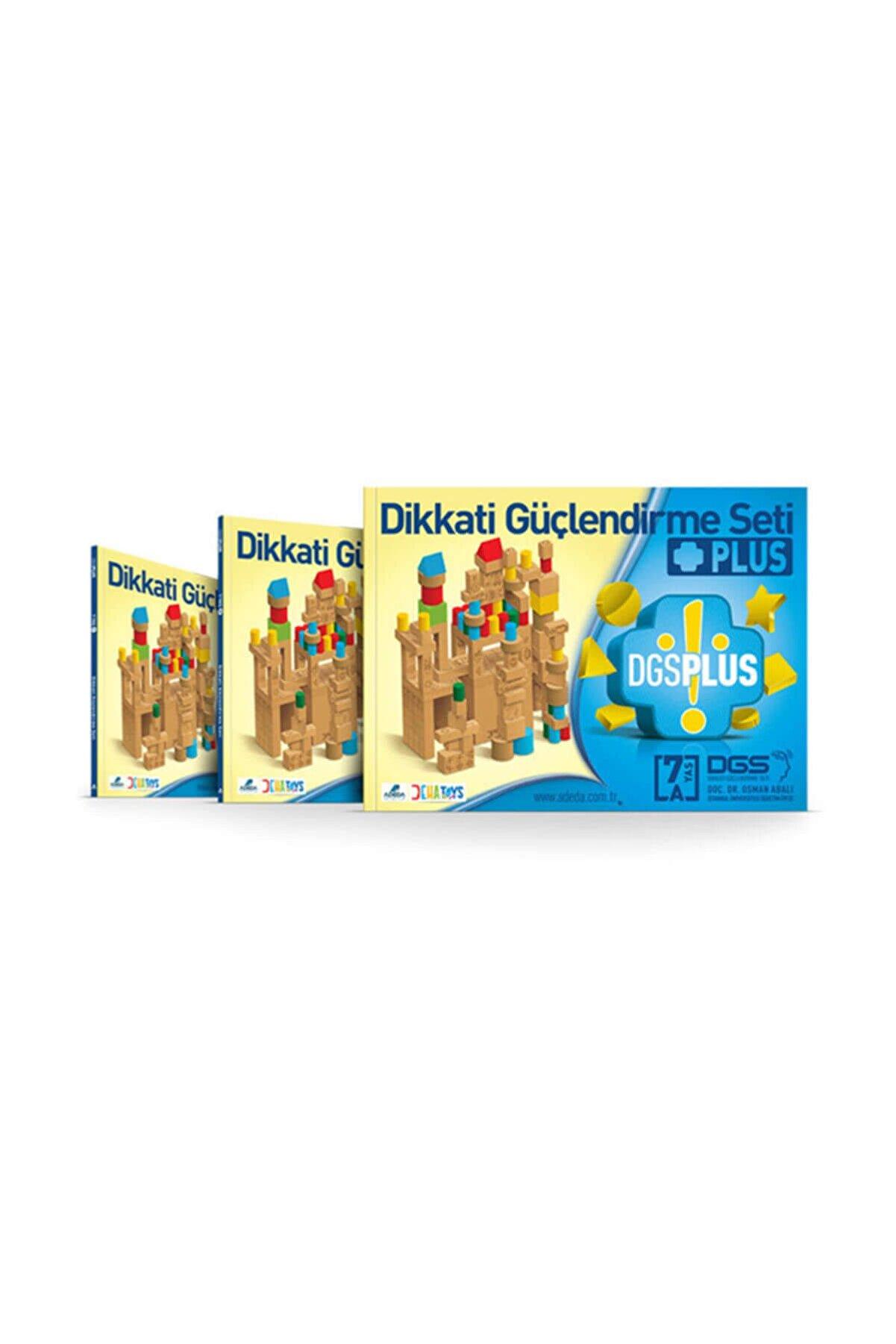 Adeda Yayınları Dikkati Güçlendirme Seti Plus 7 Yaş Materyalsiz 3 Kitap