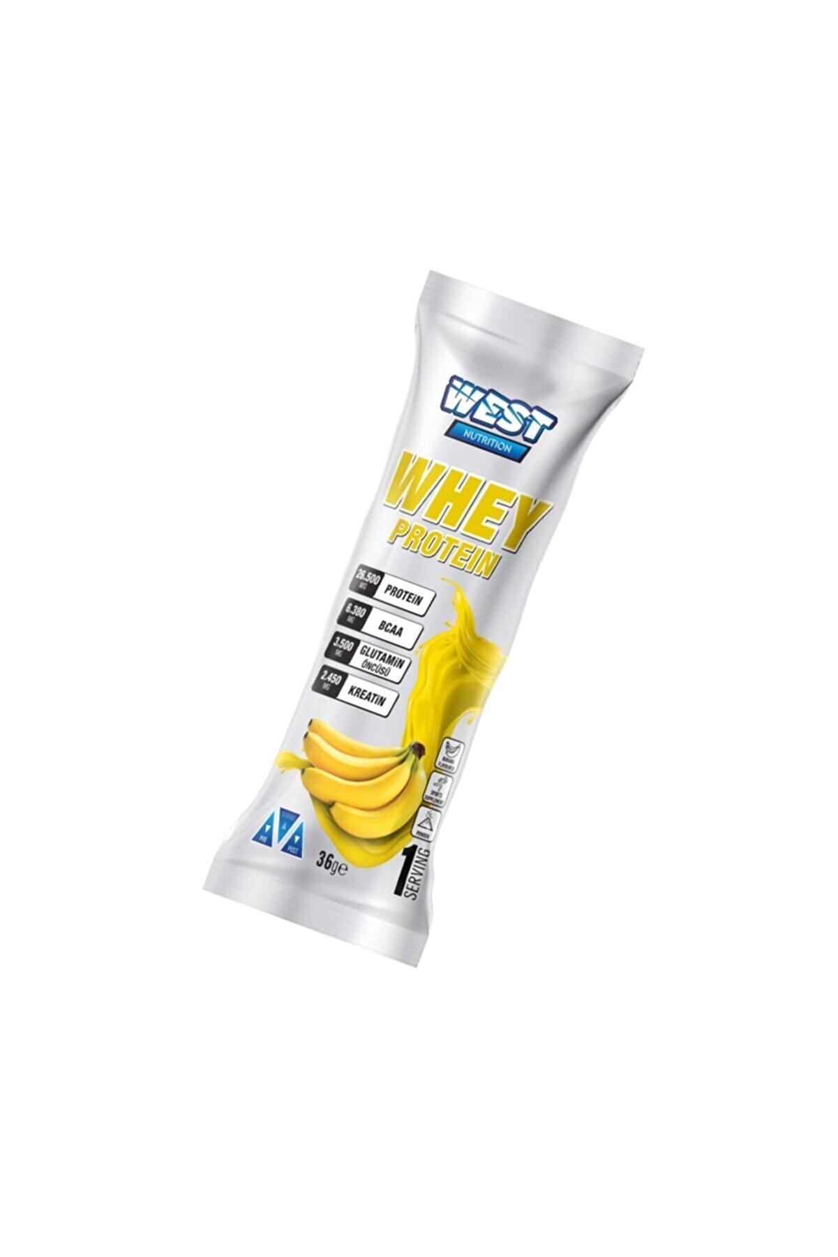 West Nutrition 36 Gram Tek Saşe Muz Aromalı Protein Tozu