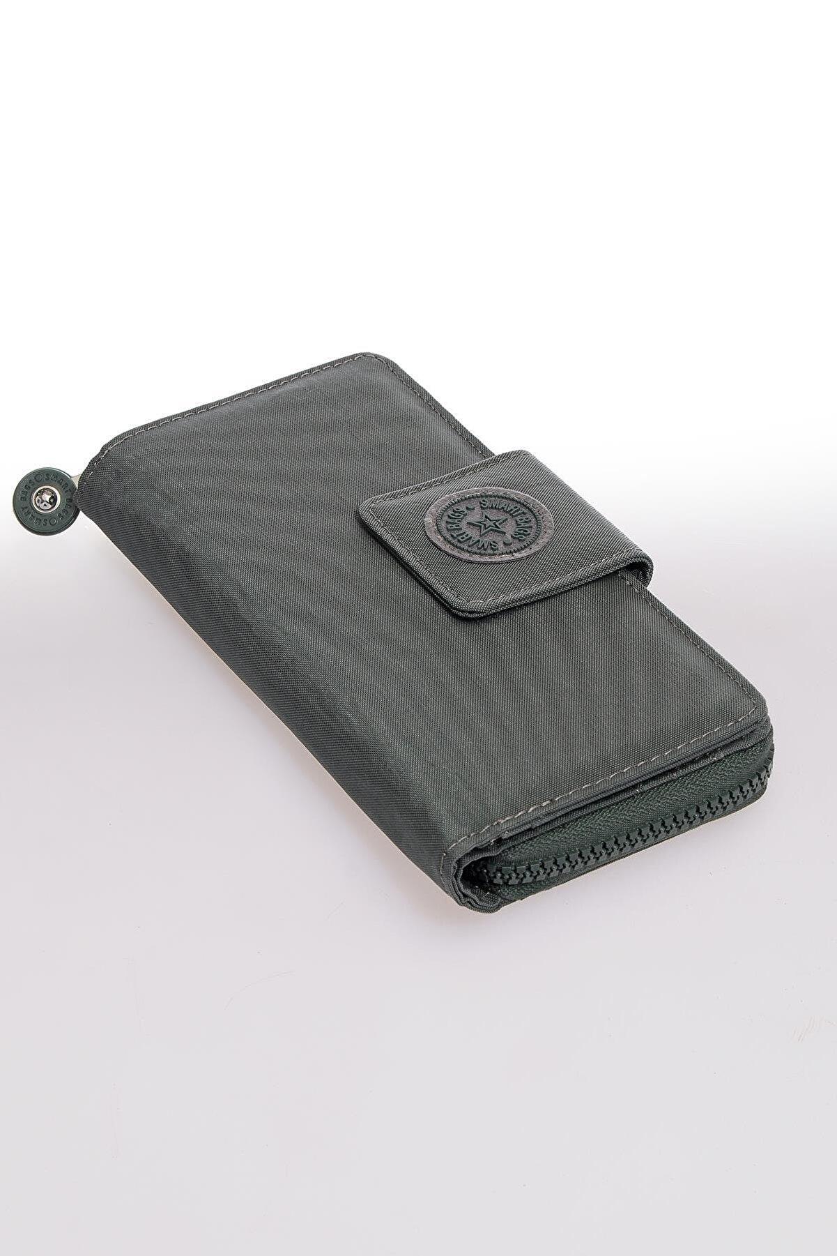 Smart Bags Smb3034-0005 Haki Kadın Cüzdan