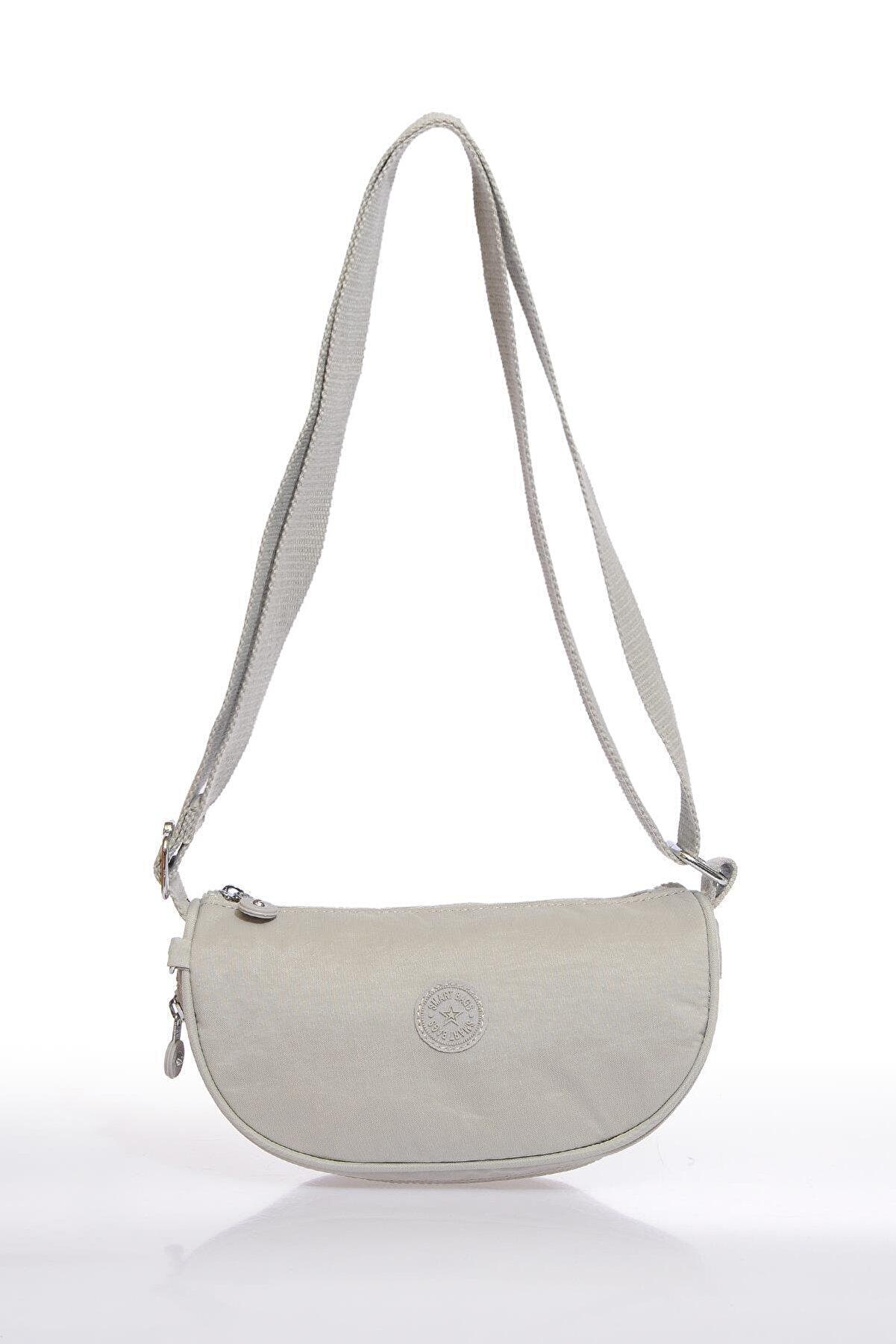 Smart Bags Smb3026-0083 Ice Gri Kadın Çapraz Çanta