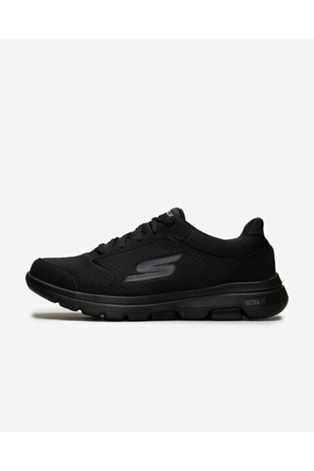 Skechers GO WALK 5 - QUALIFY Erkek Siyah Yürüyüş Ayakkabısı