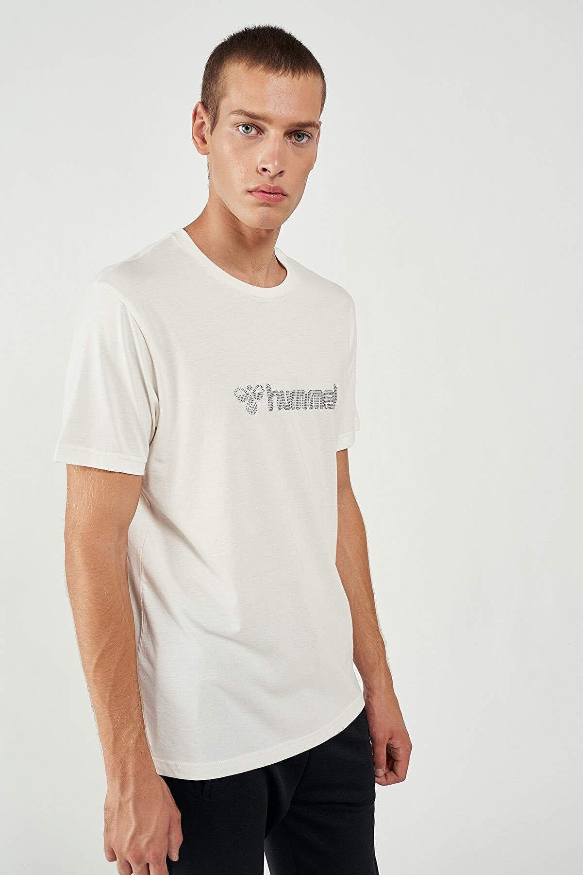 HUMMEL 911335 Hmlnaples T-shırt Ss Tee _ Beyaz S