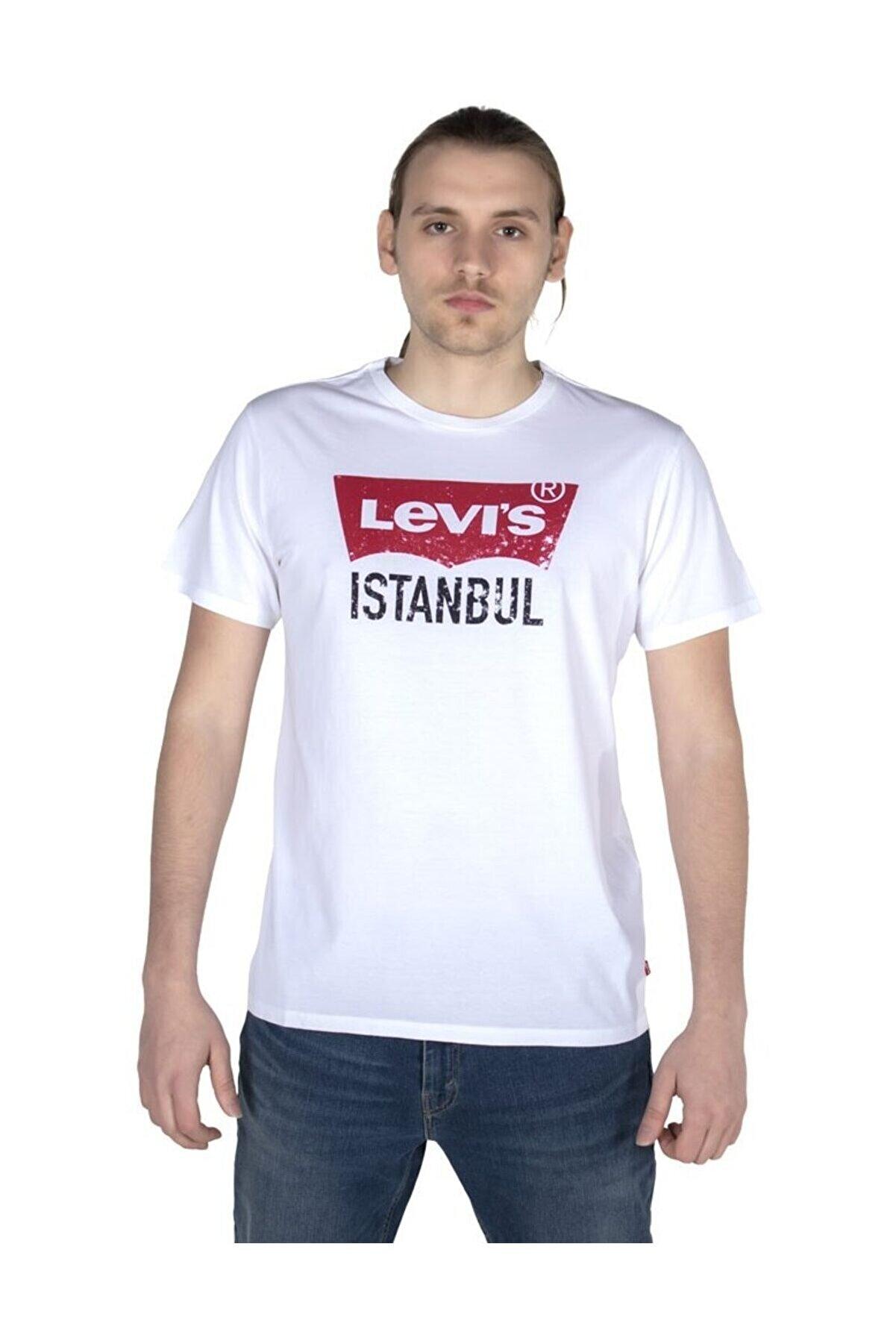 Levi's Levis Erkek Tişört Destination Istanbul 22465-0048