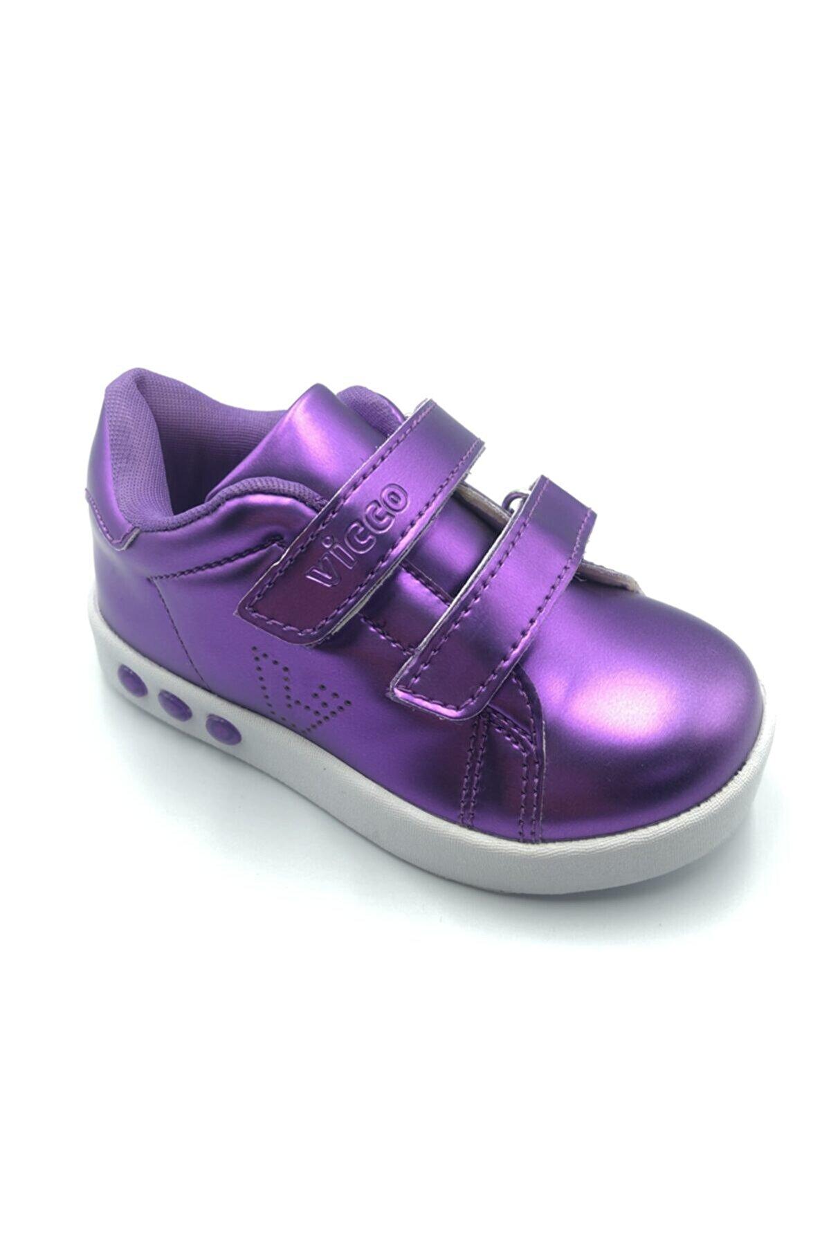 Vicco Kız Çocuk Mor Oyo Spor Ayakkabı
