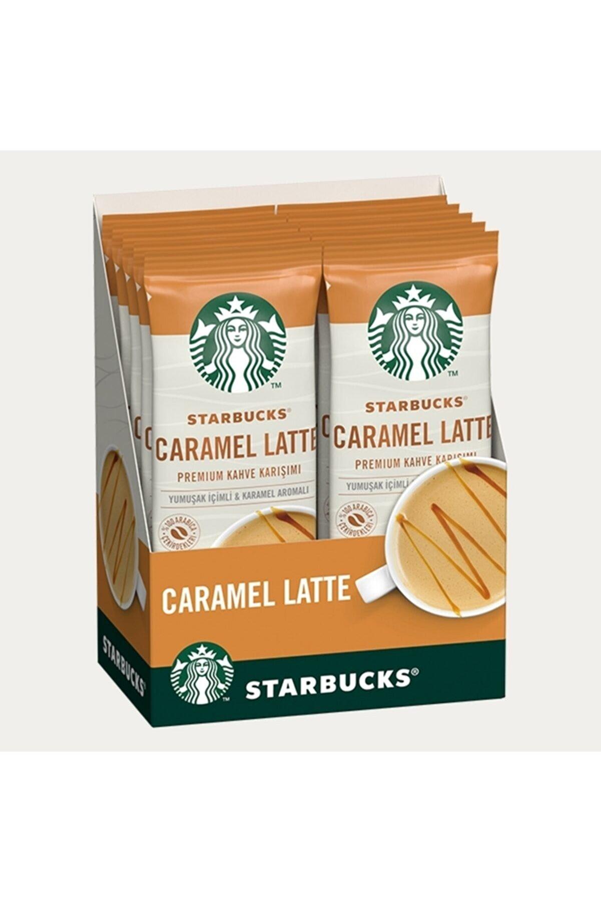 Coffee Starbucks Caramel Latte Sınırlı Üretim Premium Kahve Karışımı (10 Adet)