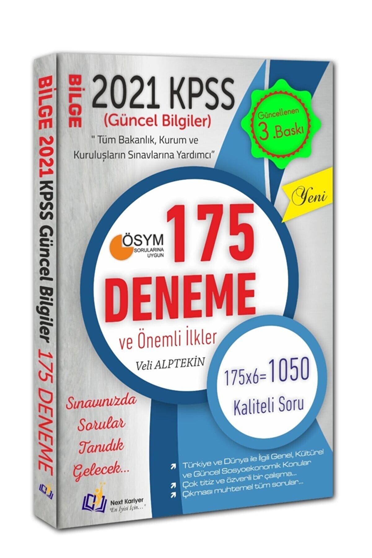Next Level Kariyer Yayınları 2021 Kpss Güncel Bilgiler Bilge 175 Deneme Ve Önemli Ilkeler