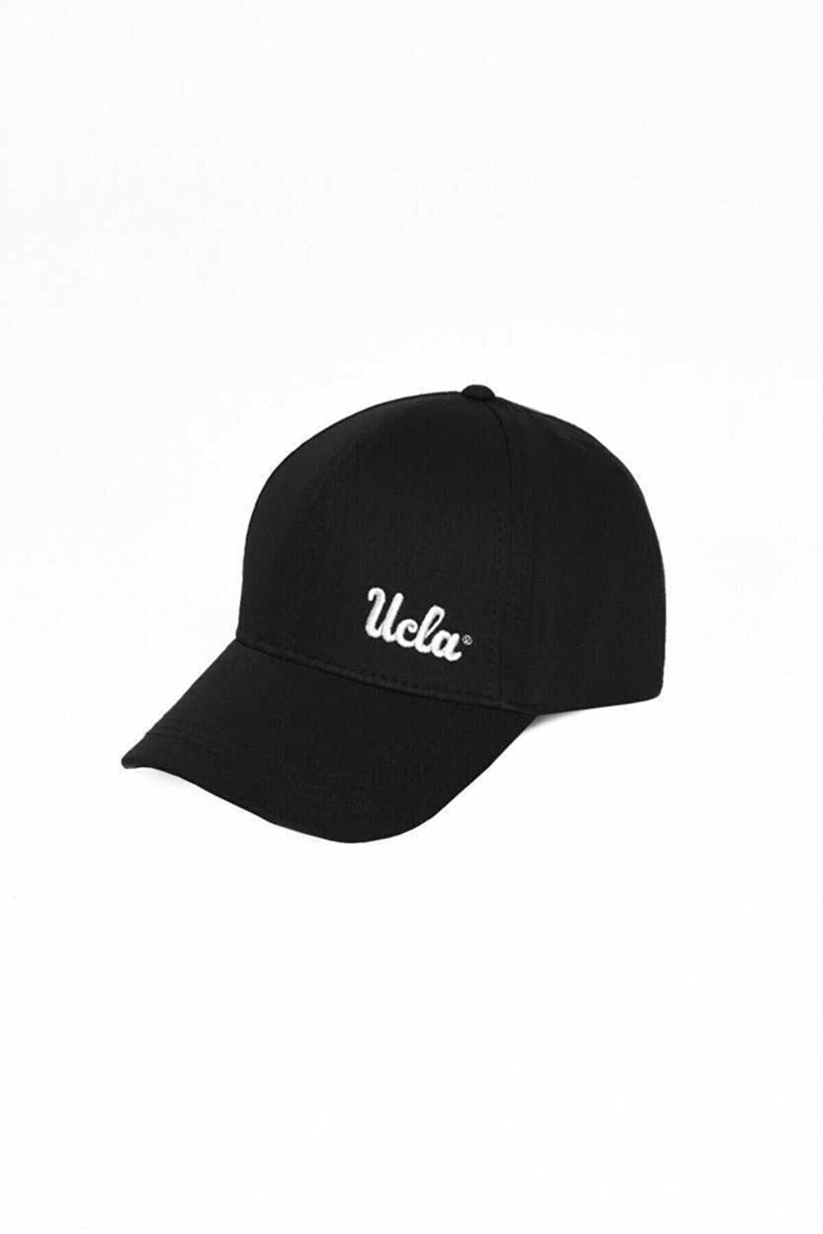 Ucla Jenner Siyah Baseball Cap Nakışlı Şapka