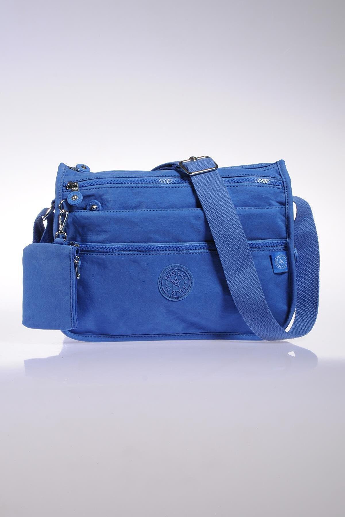 Smart Bags Smb1128-0031 N.mavi Kadın Çapraz Çanta