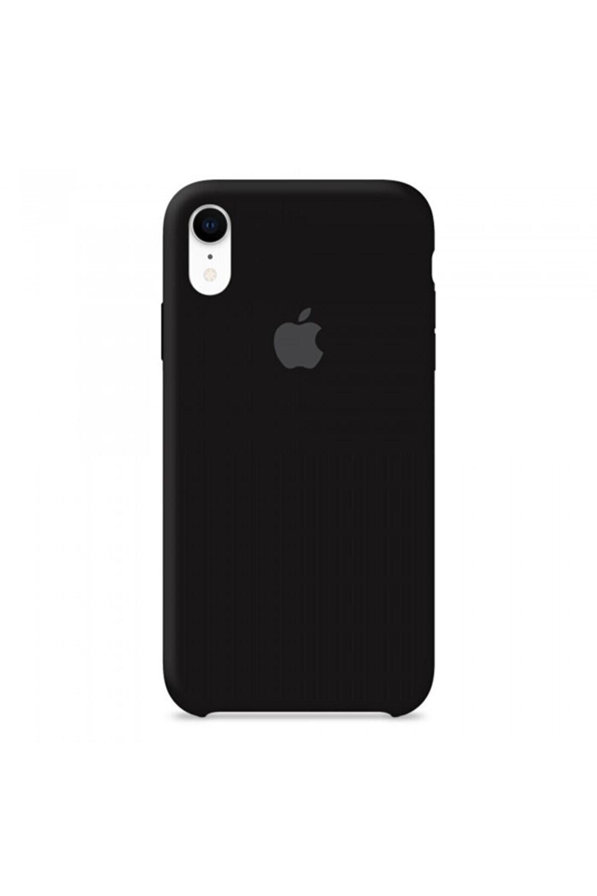 ERETNA STORE Iphone Xr Uyumlu Silikon Kılıf Siyah