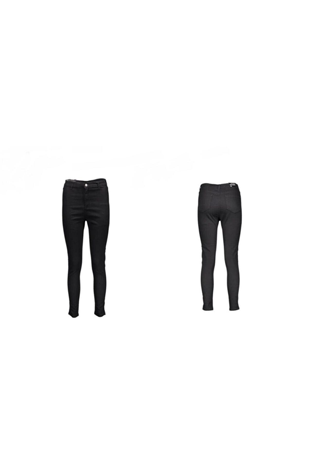 Collezione Kadın Yüksek Bel Süper Likralı Dar Kesim Jeans Ucb021907a41