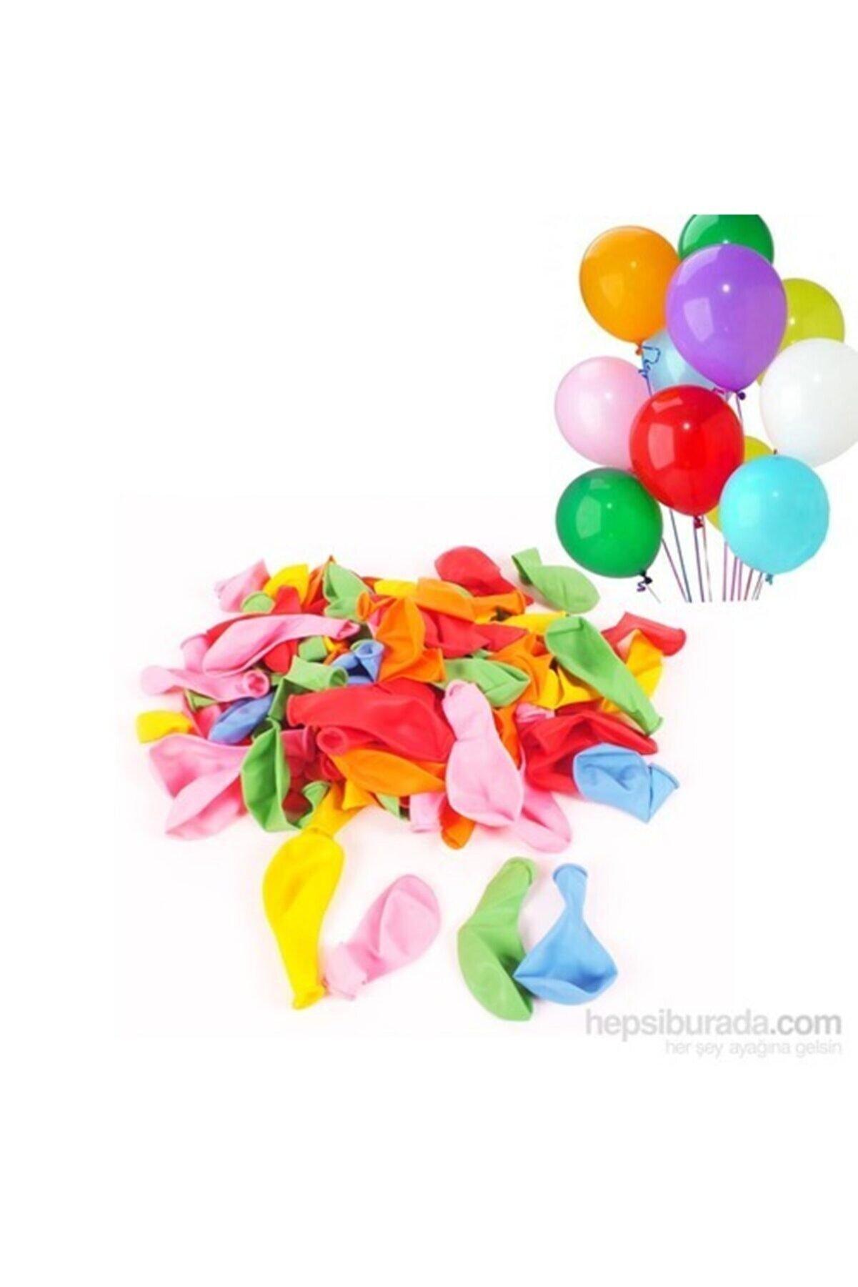 Happyland Act Karışık Renklerde 100 Adet Balon