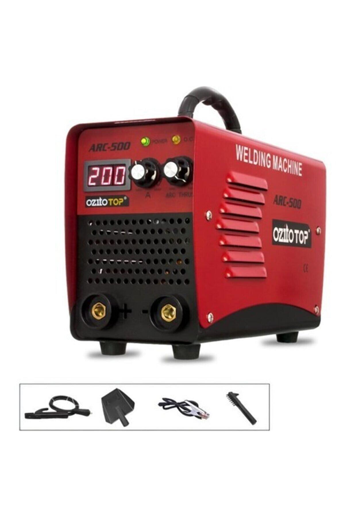 ozito Top Arc 500 Pro Inverter Dijital Göstergeli Kaynak Makinası 200 Amp 2,5 3 Sorunsuz Eritir