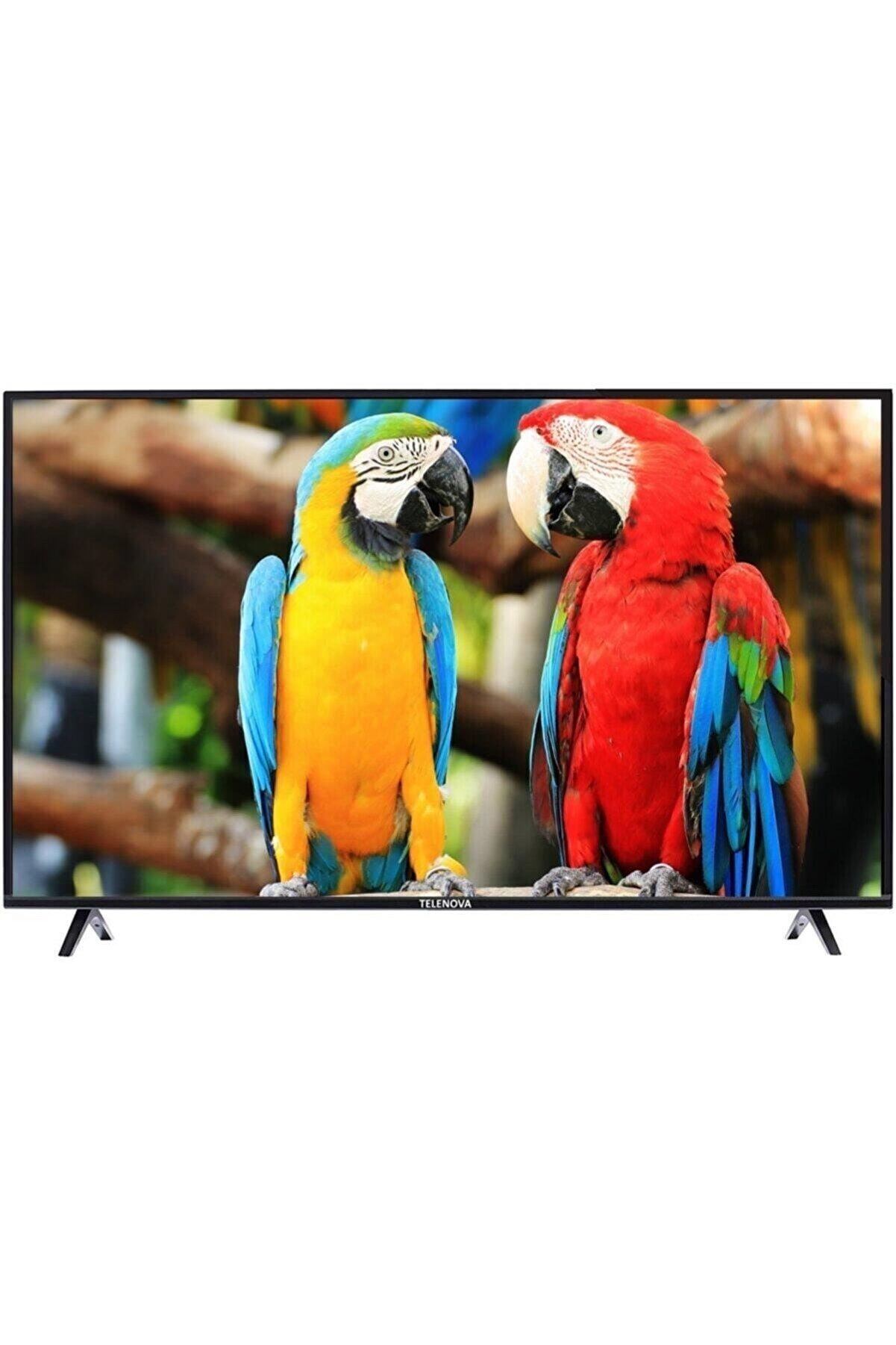 """TELENOVA 65S8001 65"""" 165 Ekran Uydu Alıcılı 4K Ultra HD Smart LED TV"""